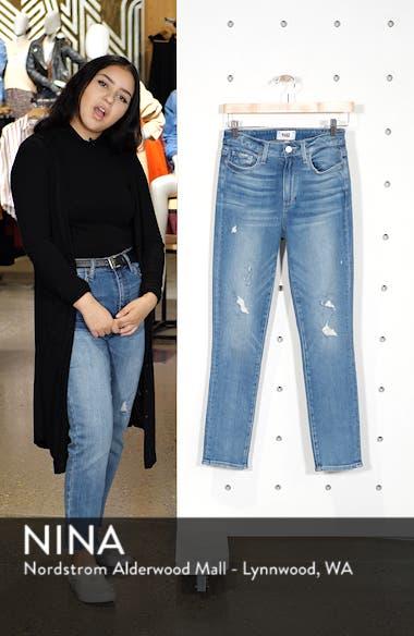 Hoxton High Waist Ankle Peg Jeans, sales video thumbnail
