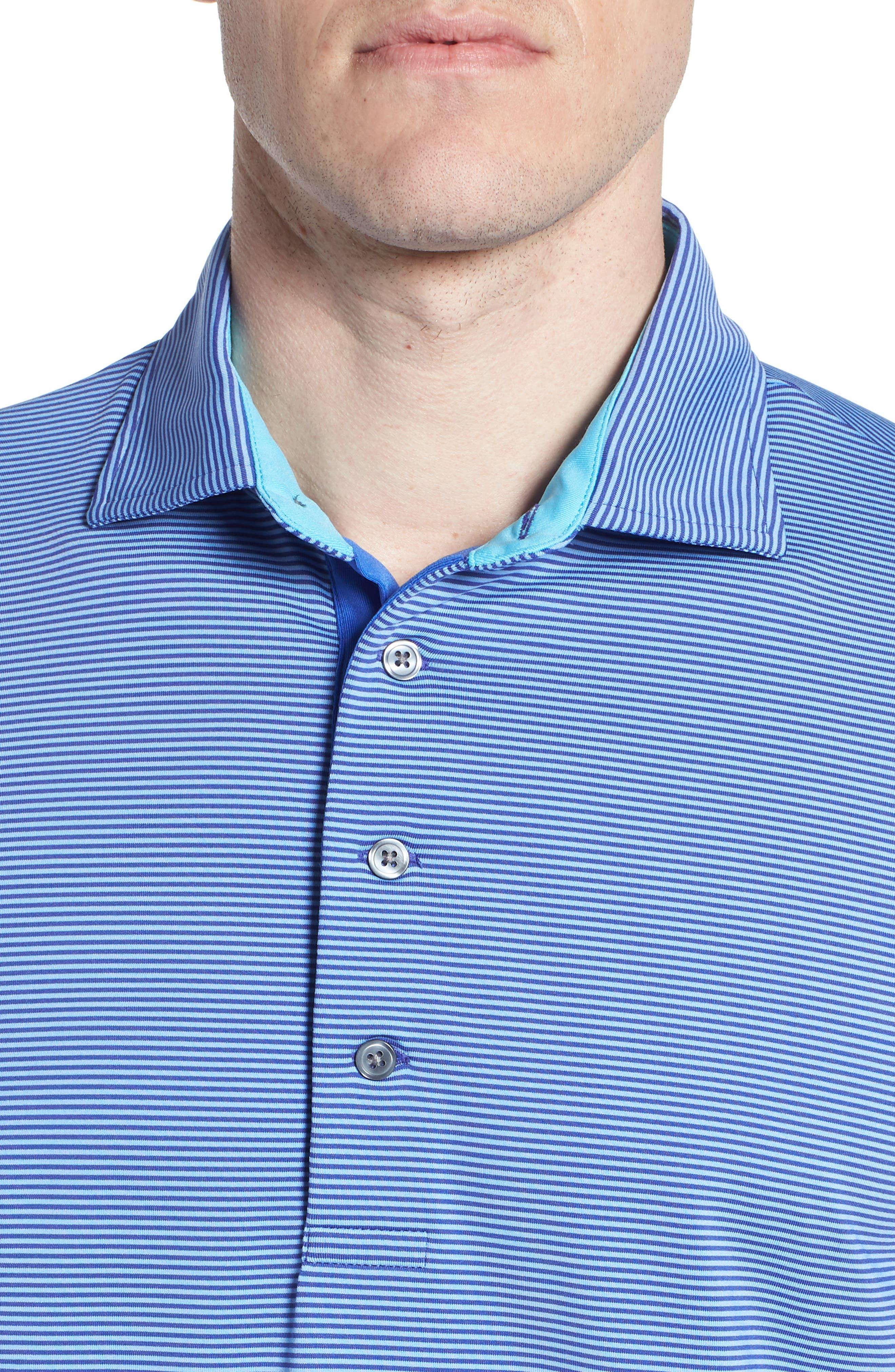 Saranac Jersey Polo,                             Alternate thumbnail 4, color,                             TWILIGHT/ ICE