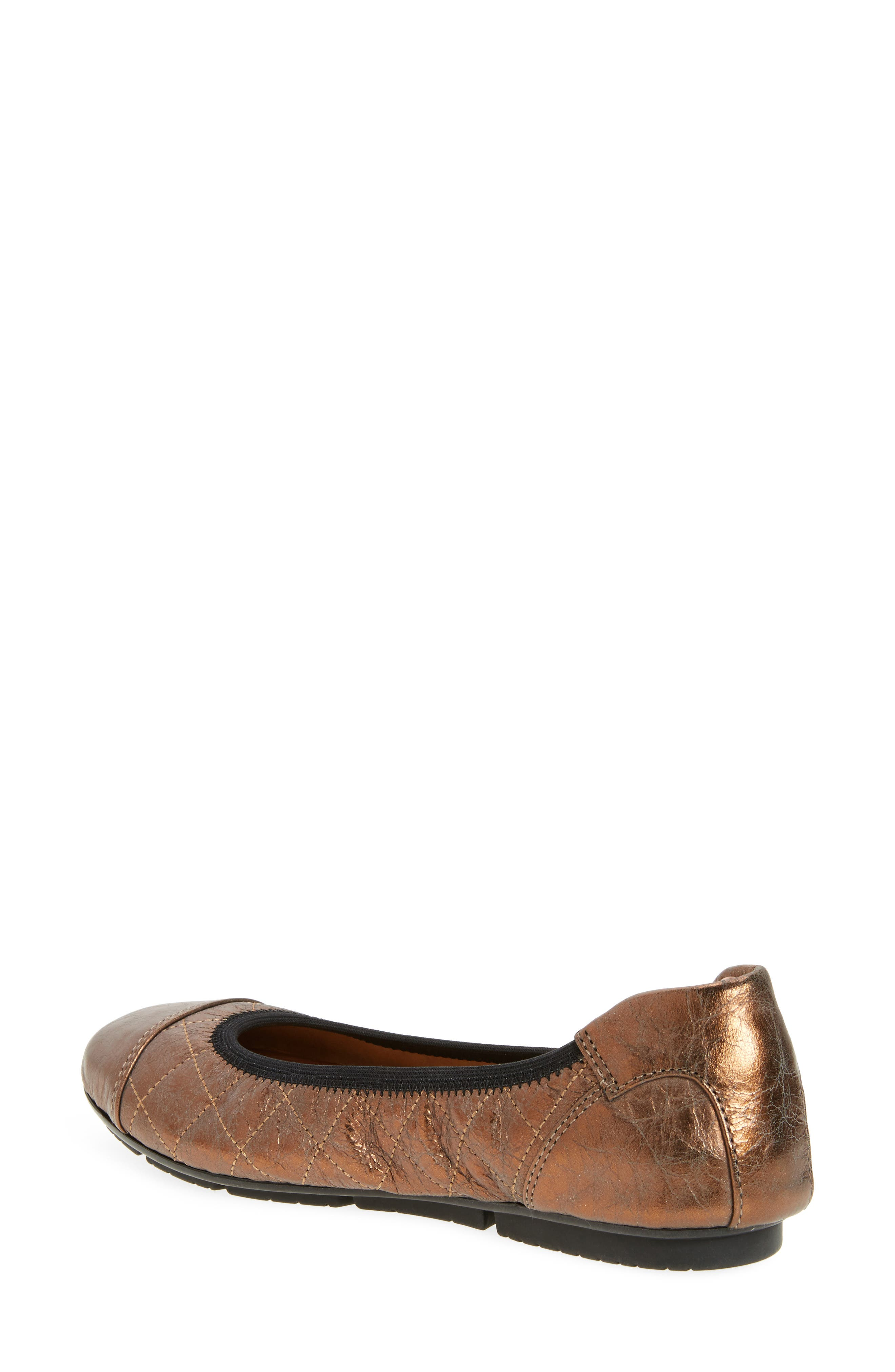 Ava Quilted Ballet Flat,                             Alternate thumbnail 6, color,
