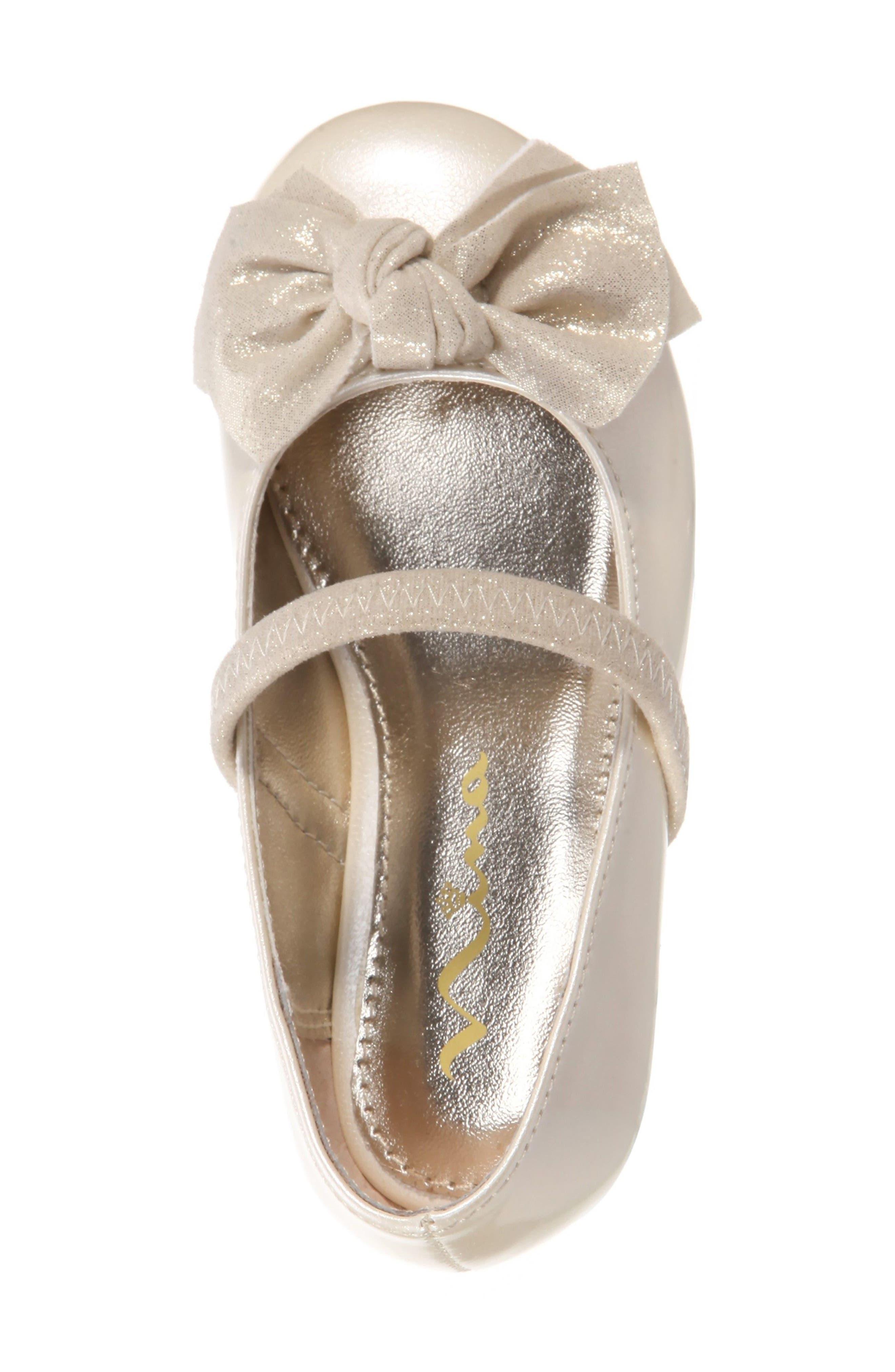 Kaytelyn-T Glitter Bow Ballet Flat,                             Alternate thumbnail 35, color,
