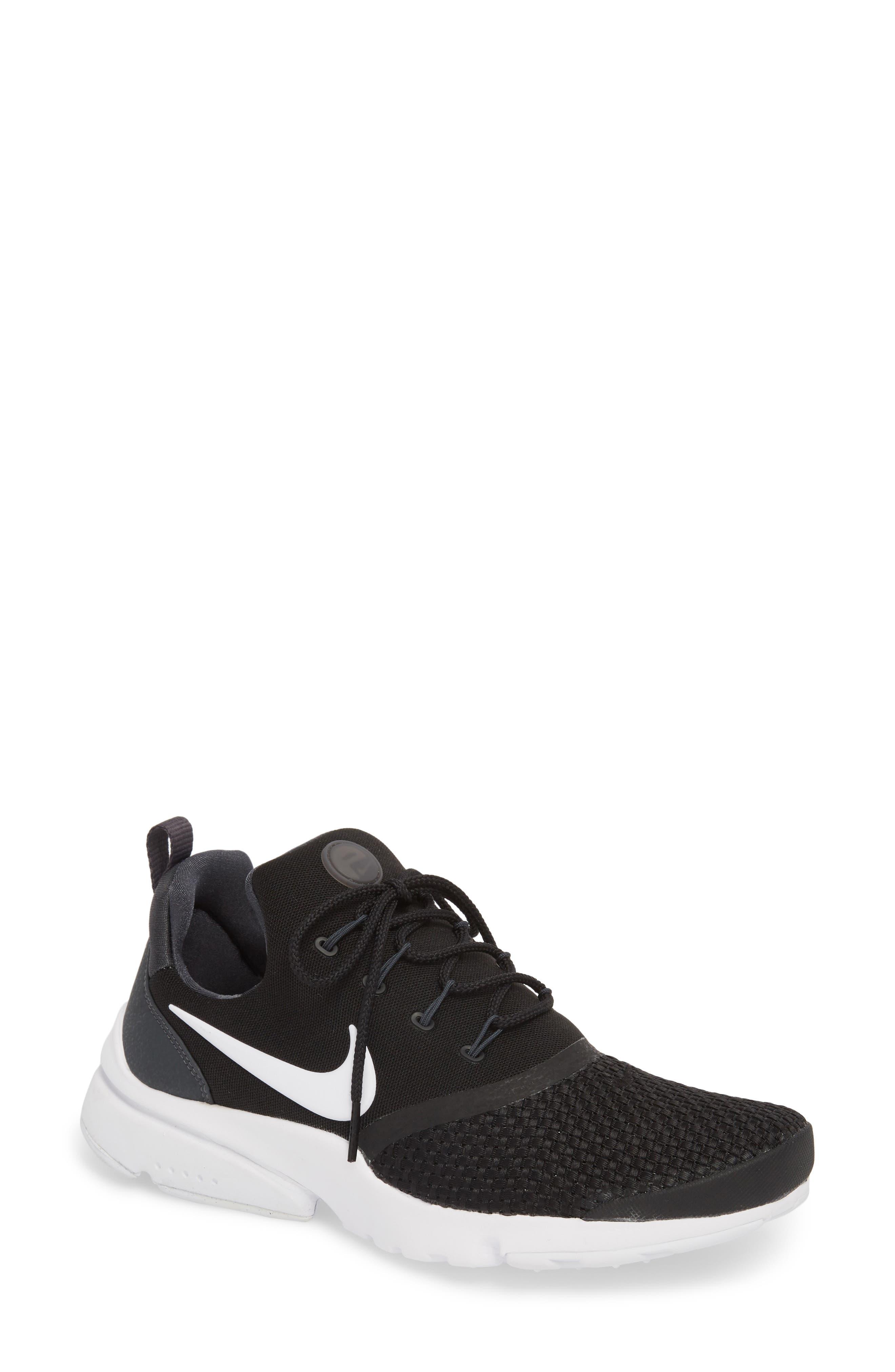 Presto Fly Sneaker,                         Main,                         color, BLACK/ WHITE/ ANTHRACITE