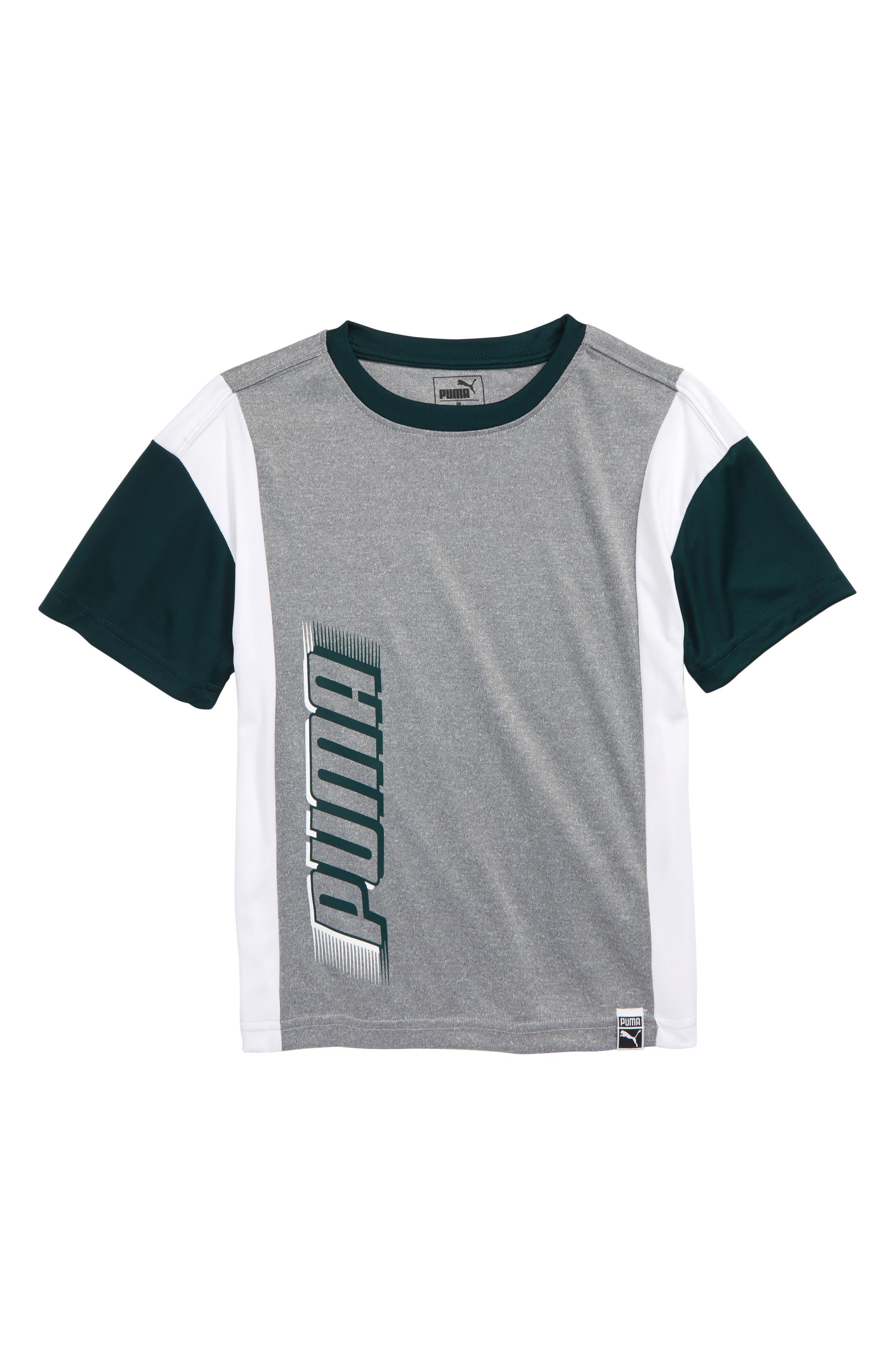 PUMA Oversize T-Shirt, Main, color, 020