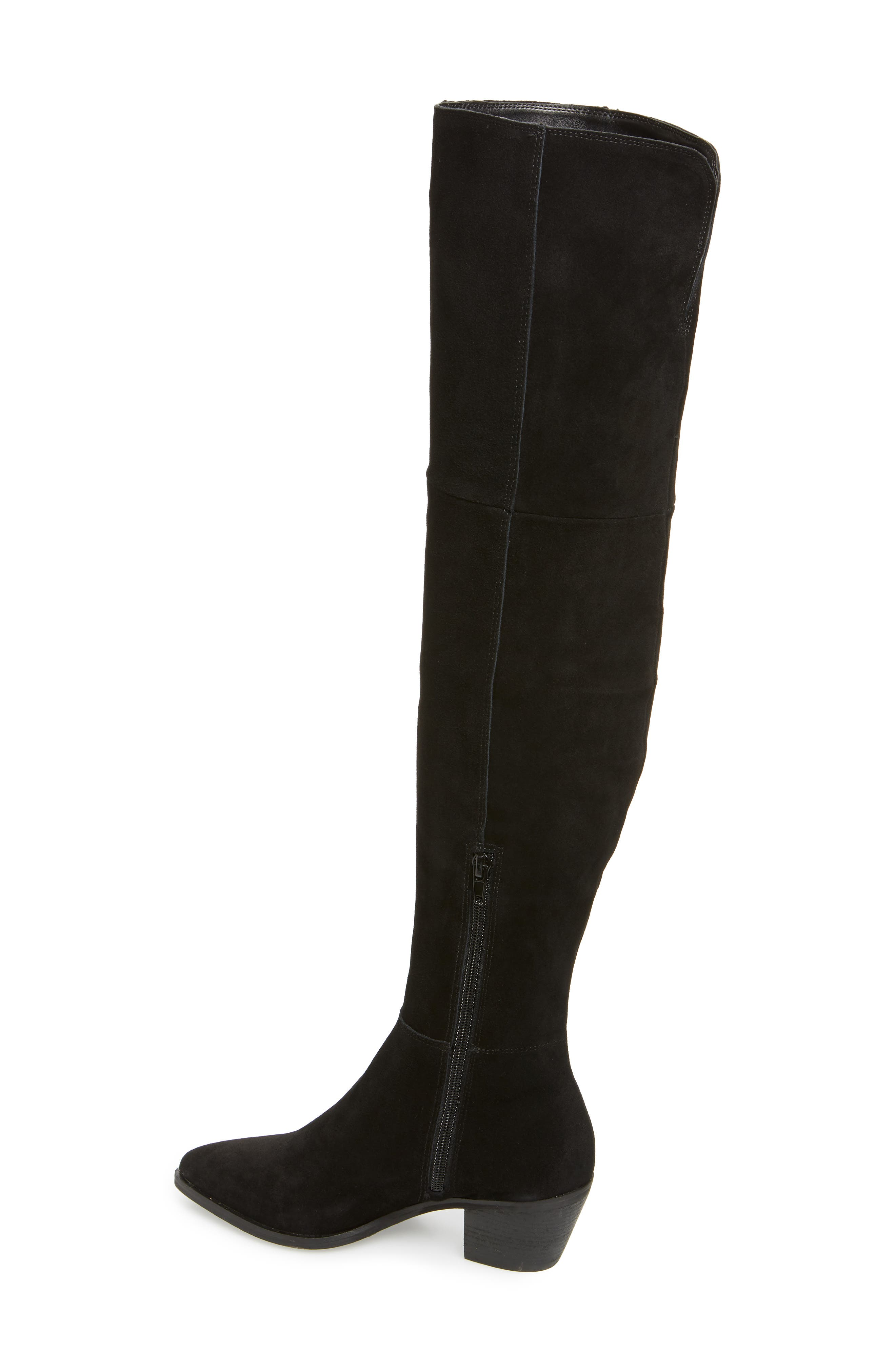 Lucca Pieced Over the Knee Boot,                             Alternate thumbnail 2, color,                             006