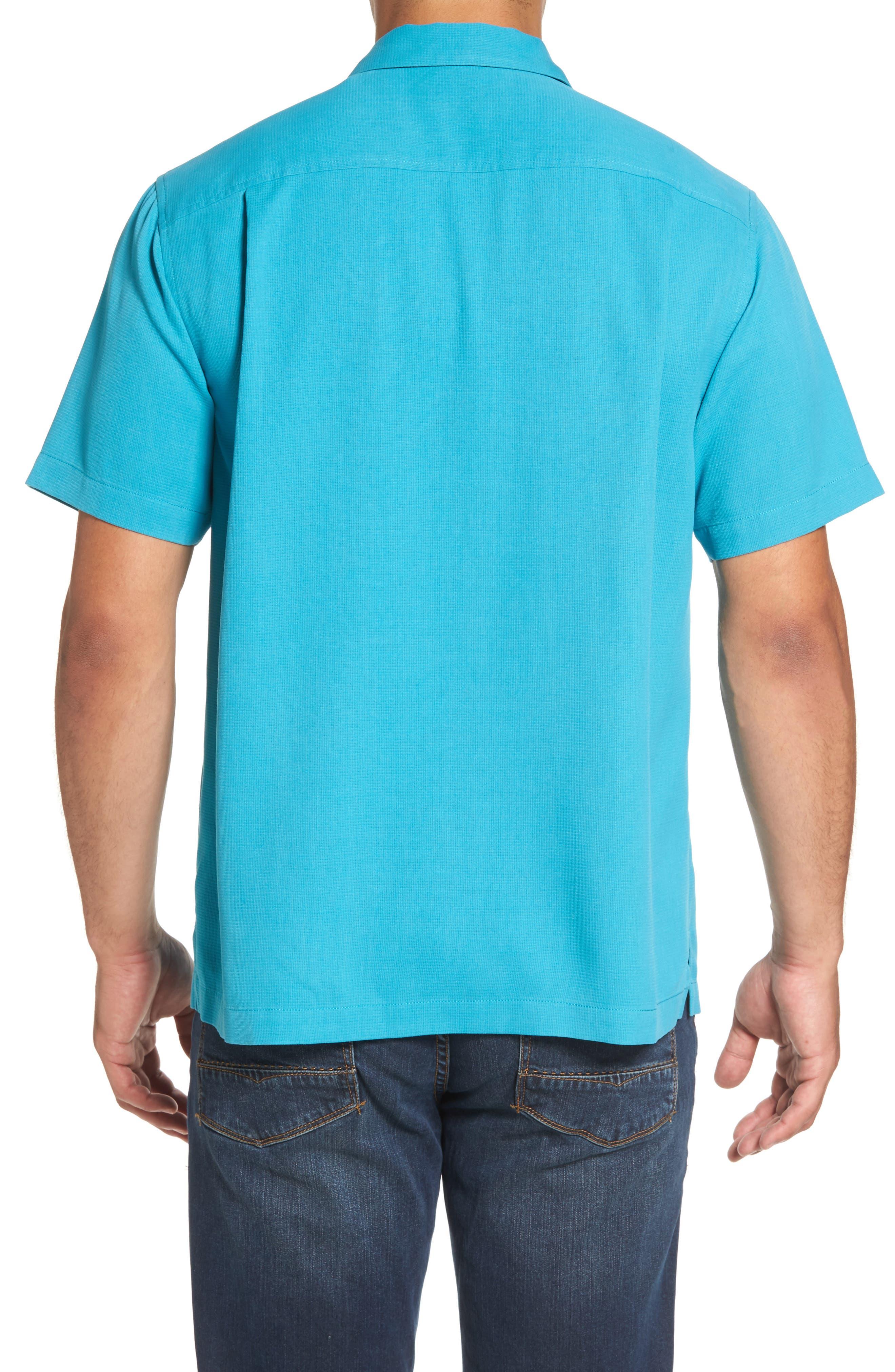 Royal Bermuda Silk Blend Camp Shirt,                             Alternate thumbnail 2, color,                             404