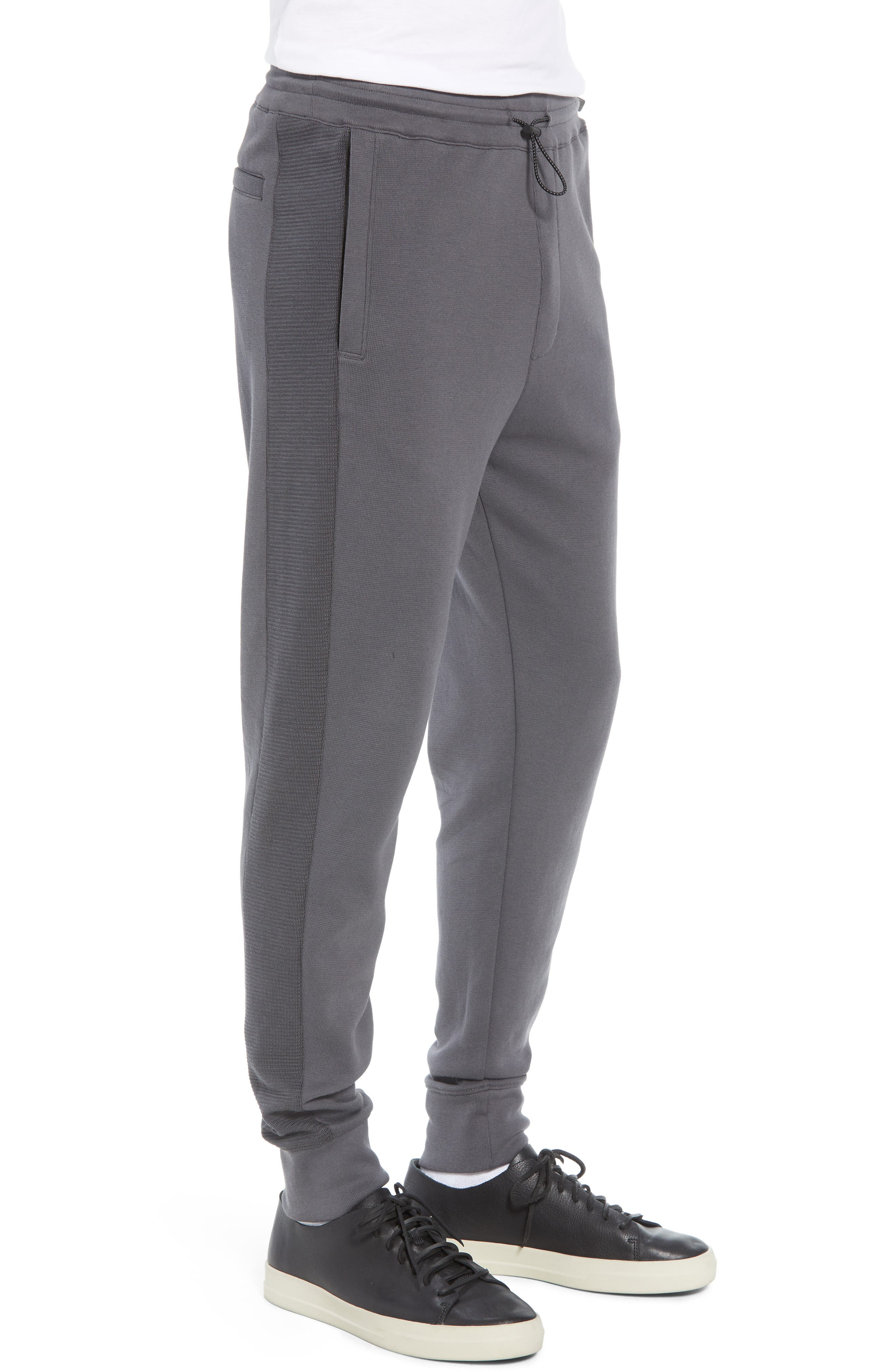 Ottoman Stitch Sweatpants,                             Alternate thumbnail 3, color,                             SLATE