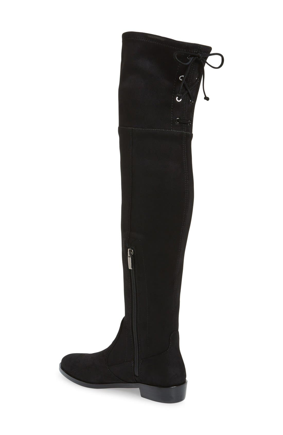 VINCE CAMUTO,                             Crisintha Over the Knee Boot,                             Alternate thumbnail 3, color,                             001