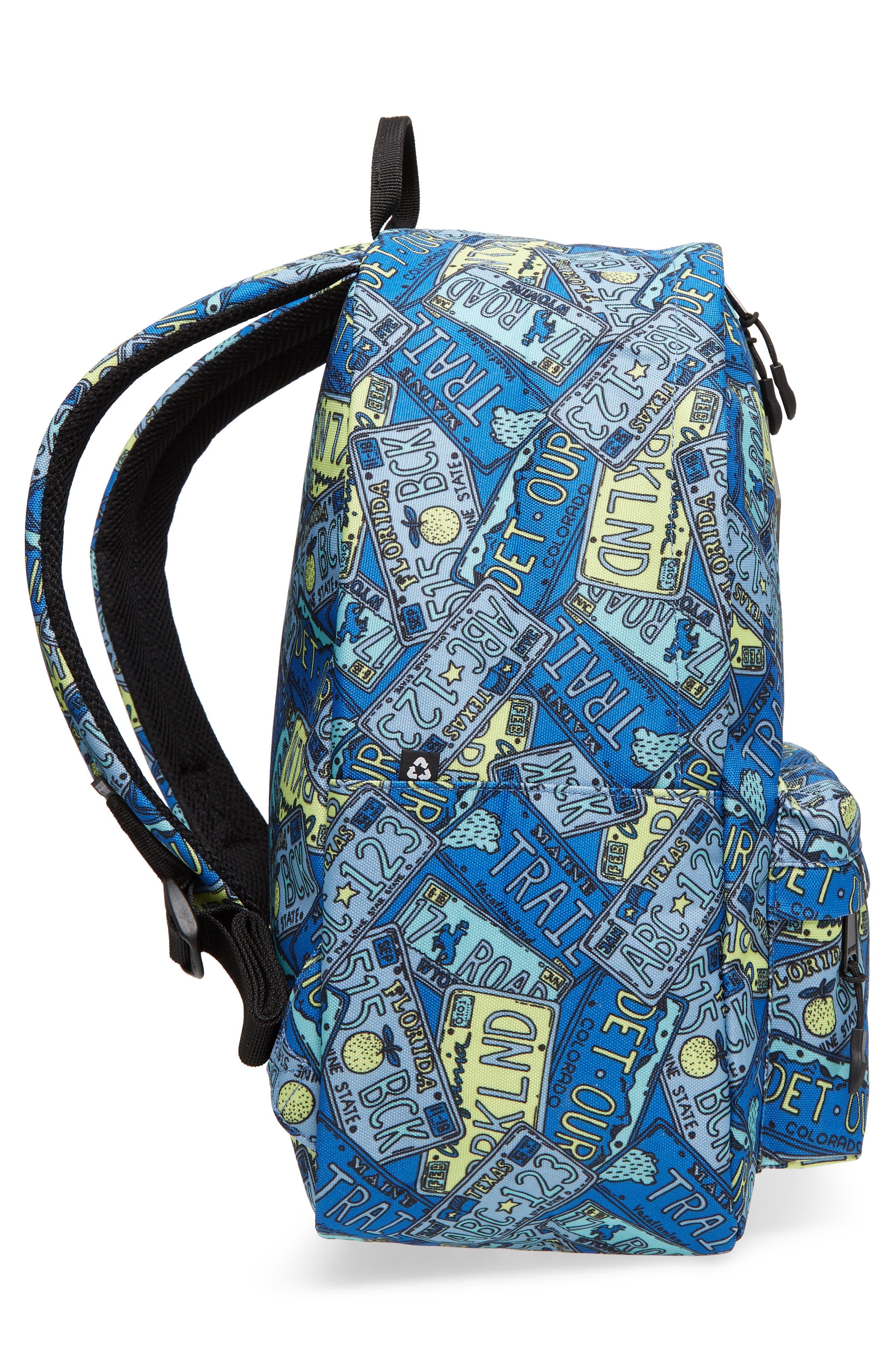 Bayside Print Backpack,                             Alternate thumbnail 11, color,