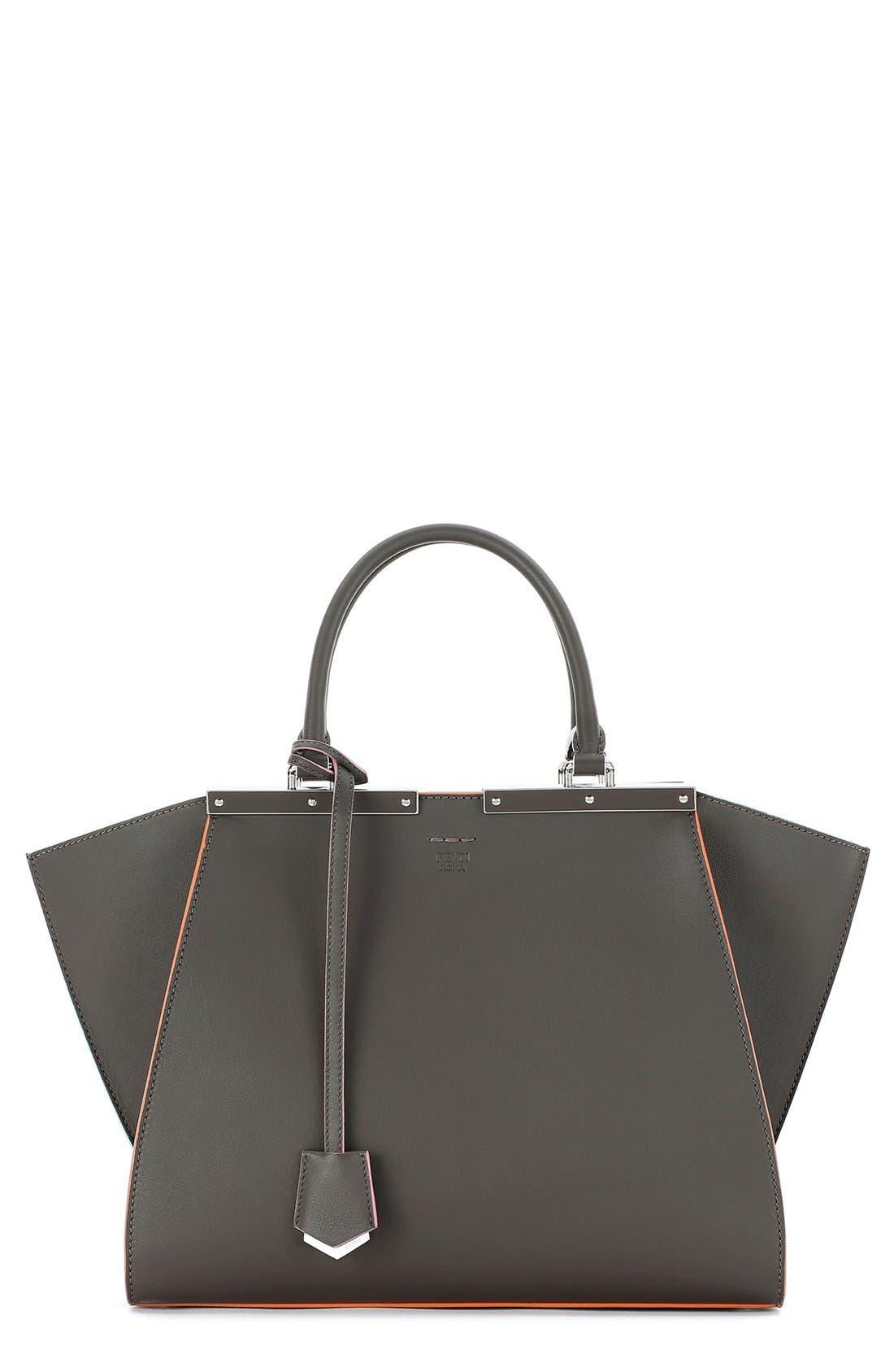 '3Jours' Leather Shopper,                         Main,                         color,