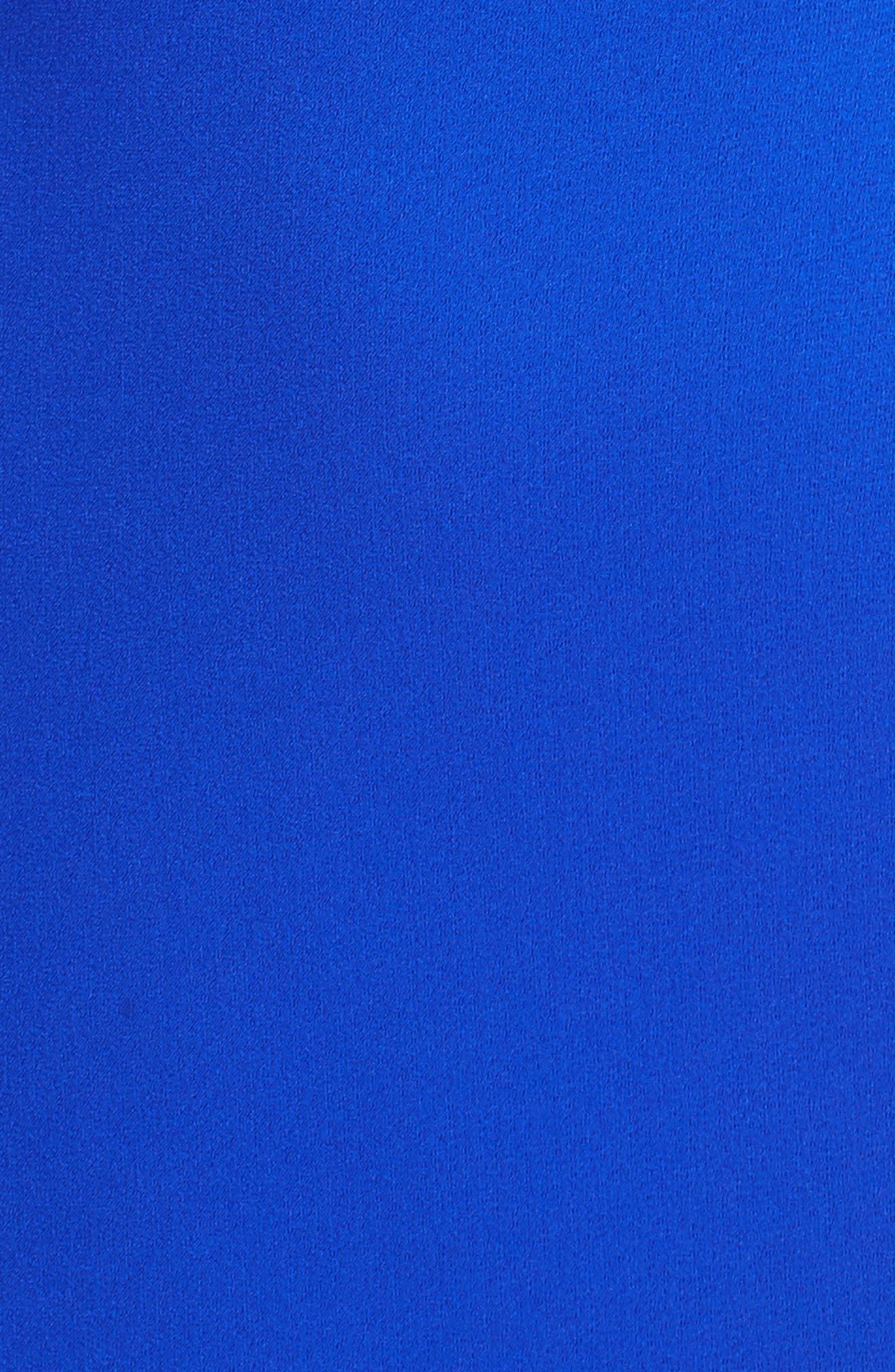 Amelia Cold Shoulder Sheath Dress,                             Alternate thumbnail 5, color,                             600
