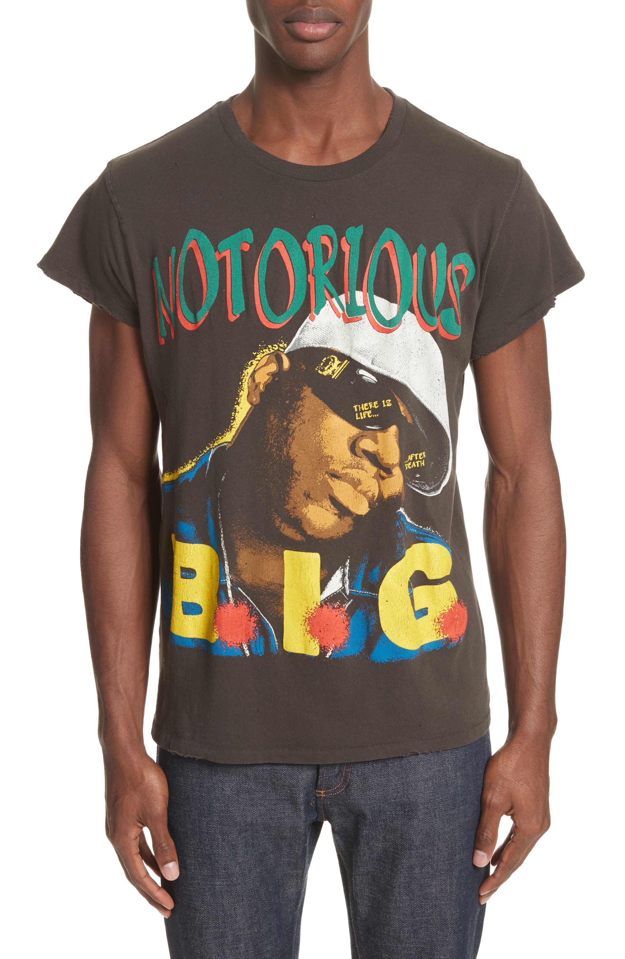 Notorious B.I.G. Graphic T-Shirt,                             Main thumbnail 1, color,                             001