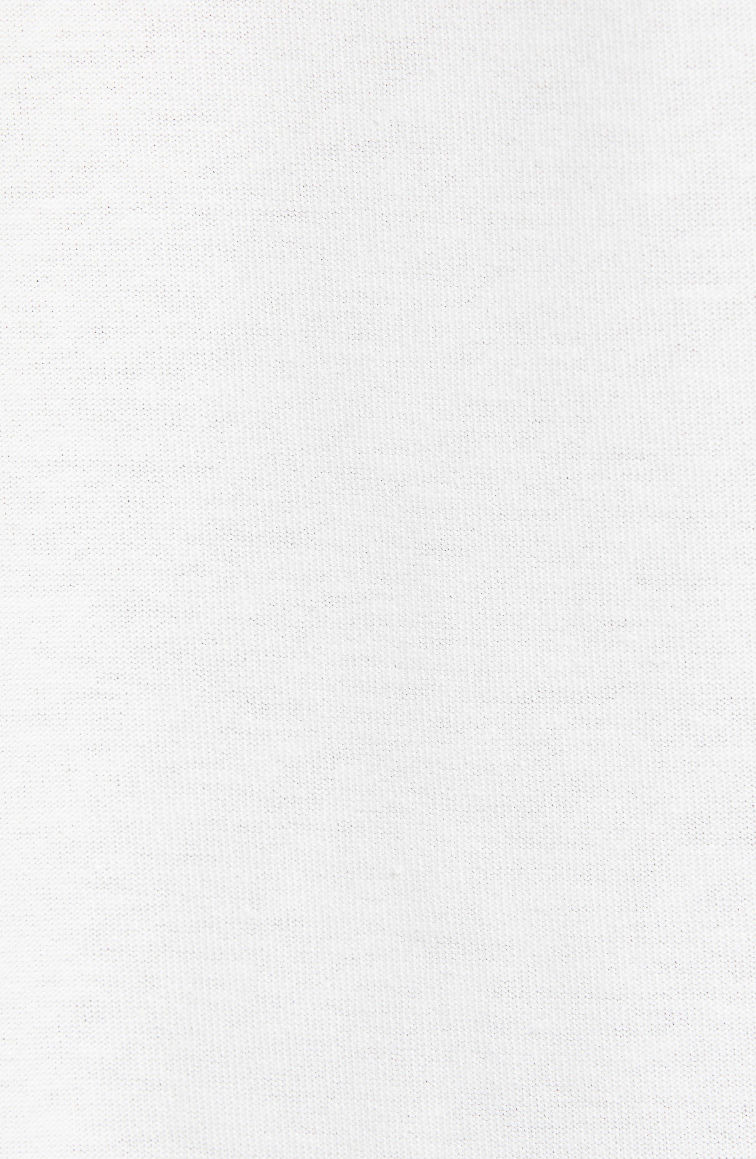 Represent Records Long Sleeve T-Shirt,                             Alternate thumbnail 5, color,                             WHITE
