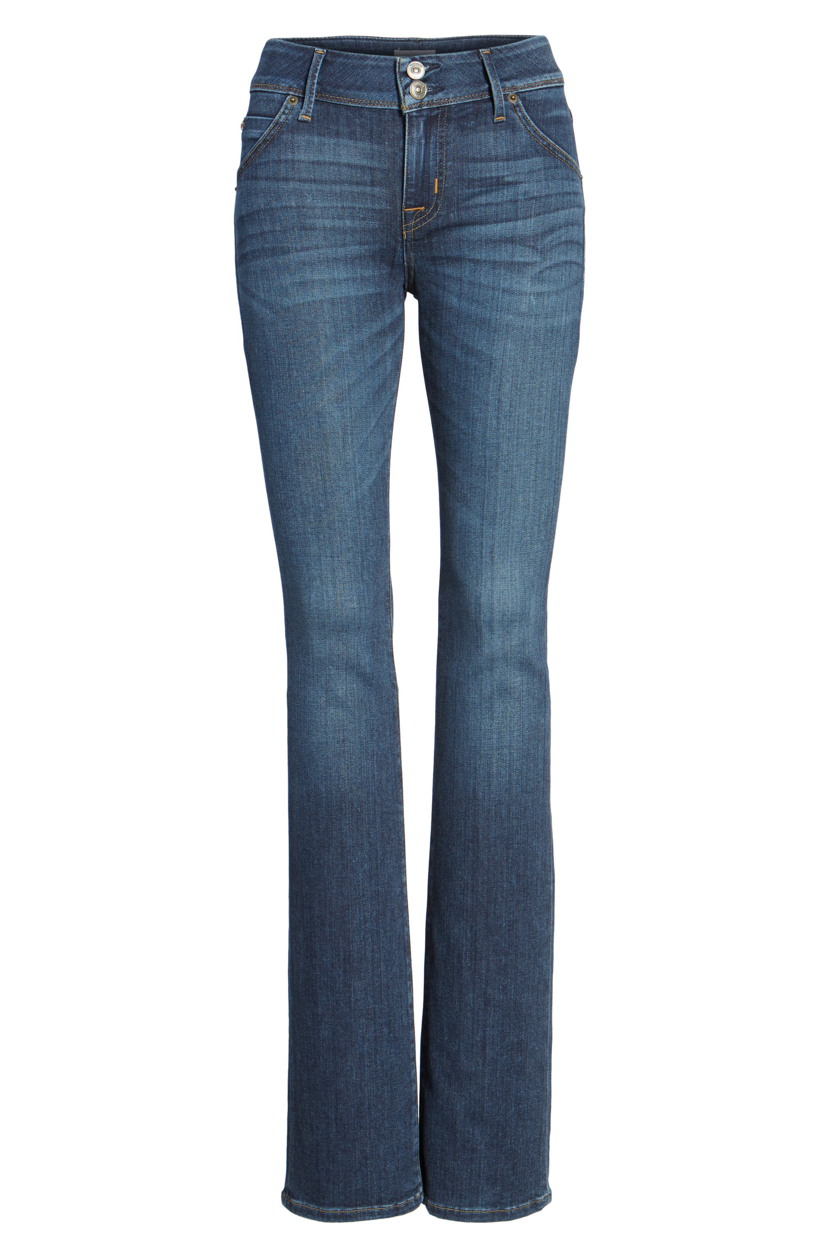 'Beth' Baby Bootcut Jeans,                             Alternate thumbnail 6, color,                             422