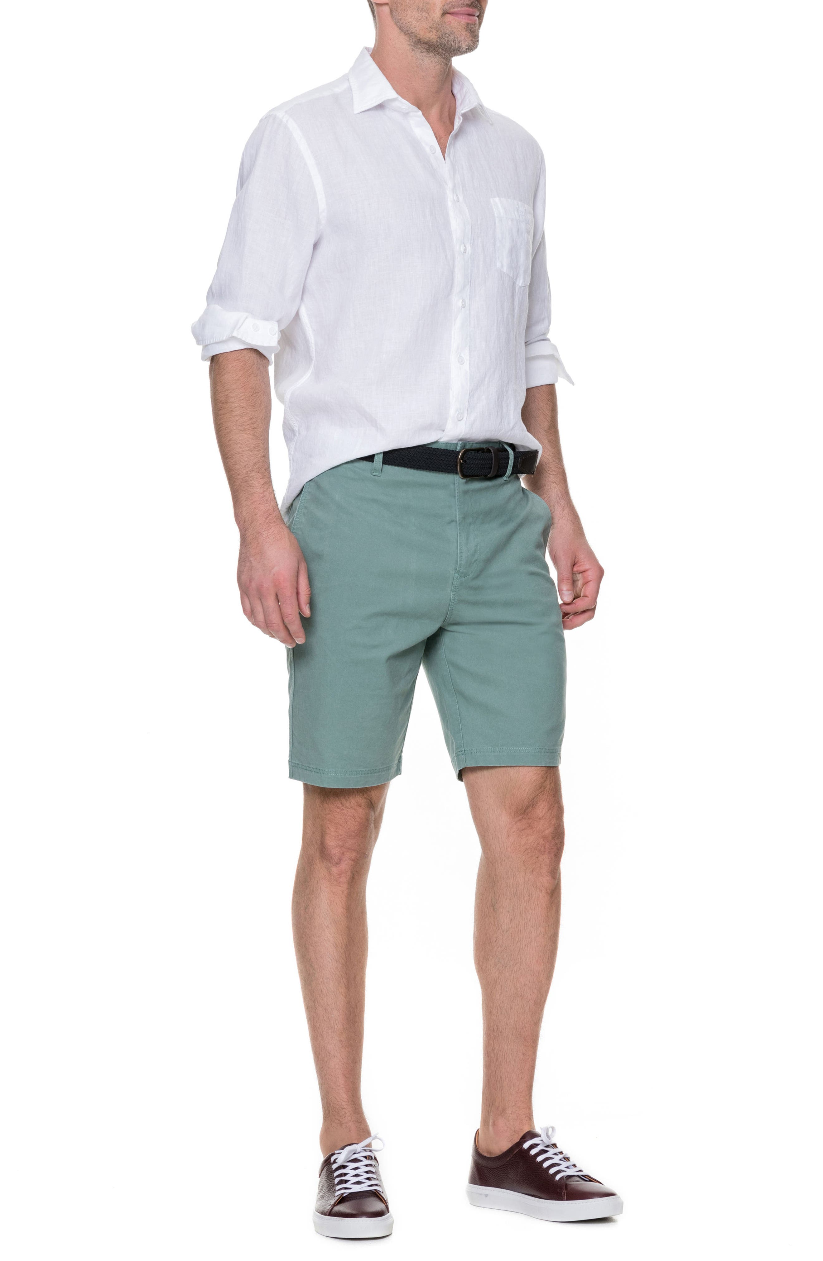 Glenburn Shorts,                             Alternate thumbnail 7, color,                             SAGE
