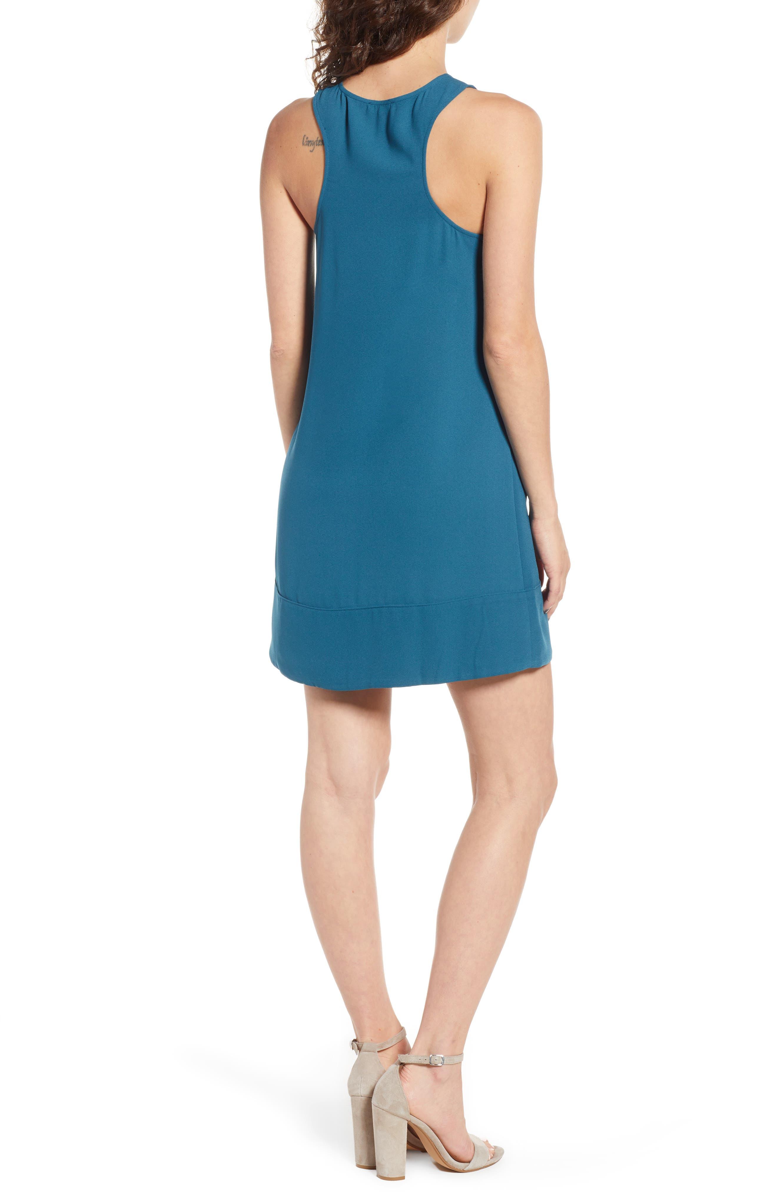 Racerback Shift Dress,                             Alternate thumbnail 55, color,