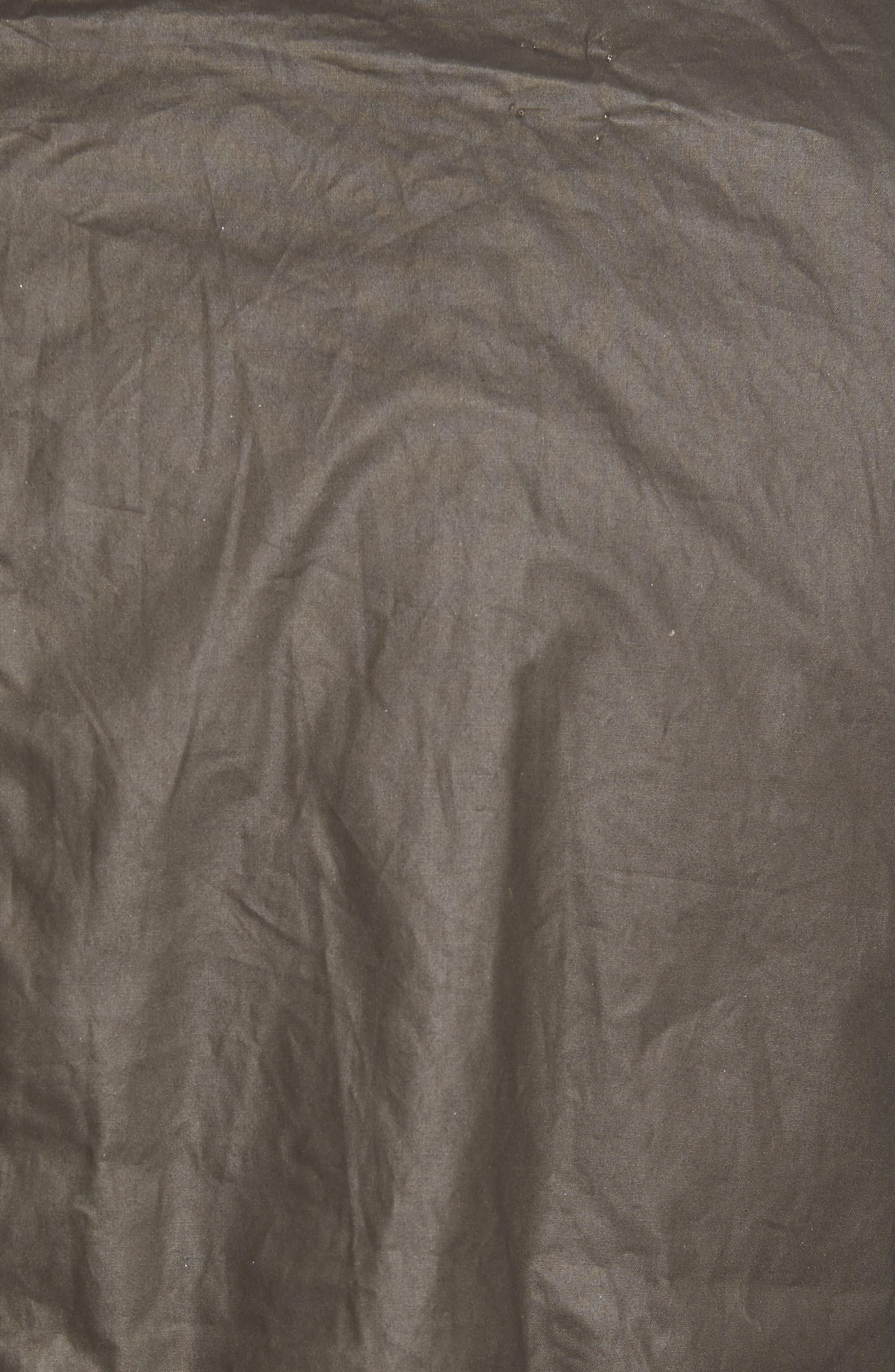 Water-Resistant Genuine Rabbit Fur Lined Vest,                             Alternate thumbnail 6, color,