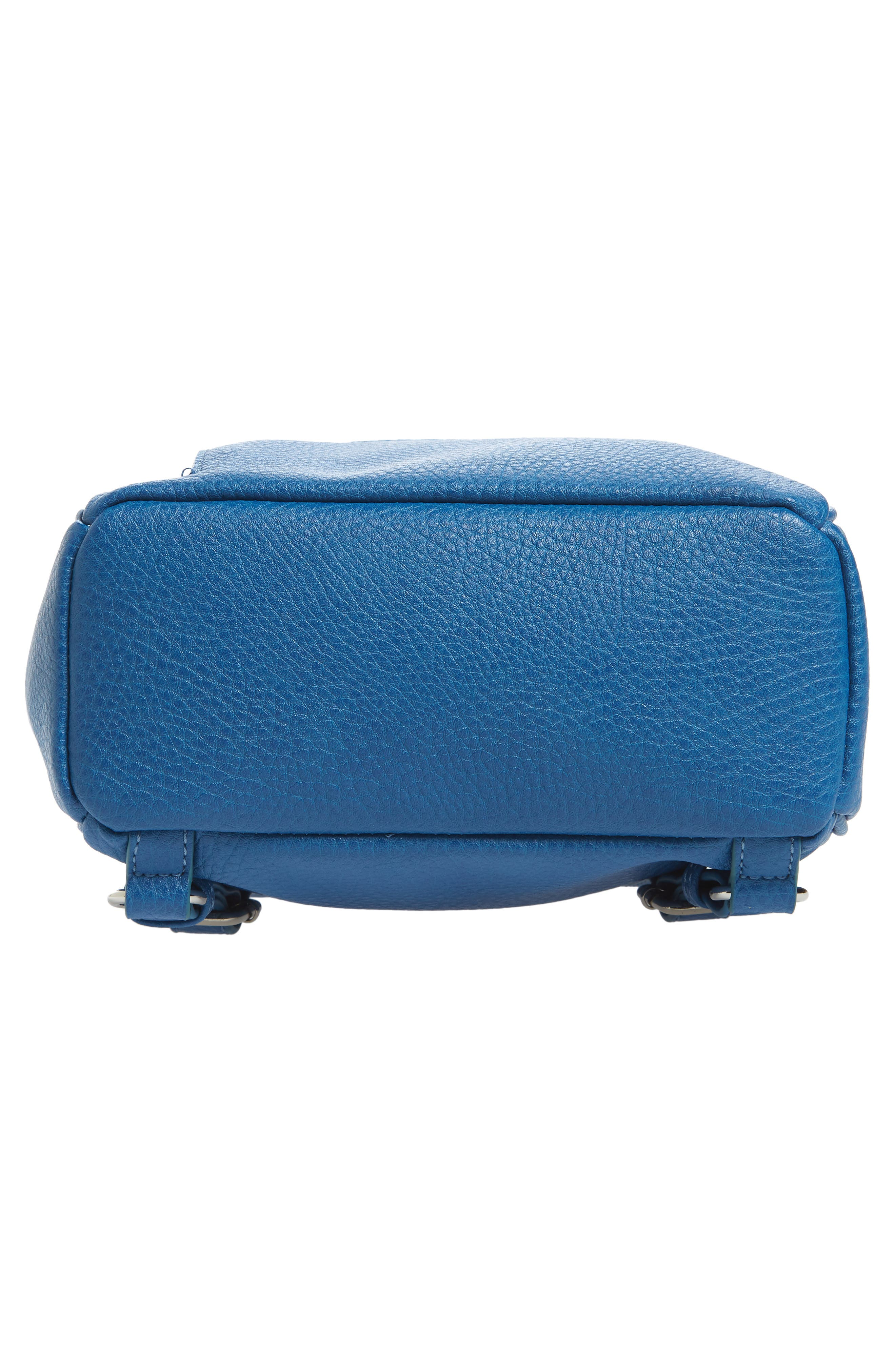 Mali + Lili Hannah Vegan Leather Backpack,                             Alternate thumbnail 6, color,                             FRENCH BLUE