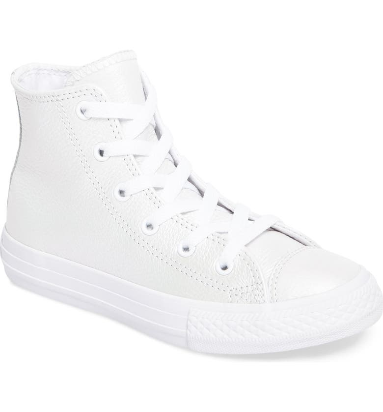 6a7ce3da495 Converse Chuck Taylor® All Star® Iridescent Leather High Top Sneaker ...