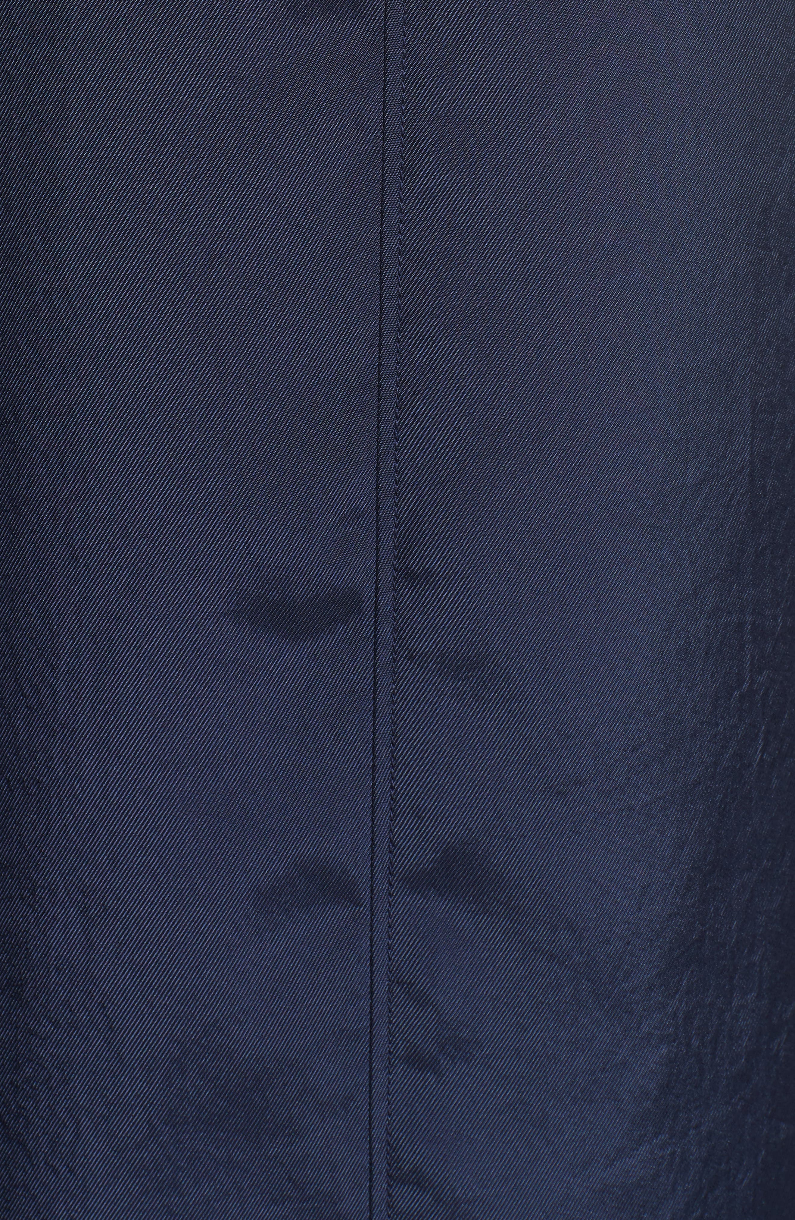 Tie Detail Crop Pants,                             Alternate thumbnail 5, color,                             NAVY