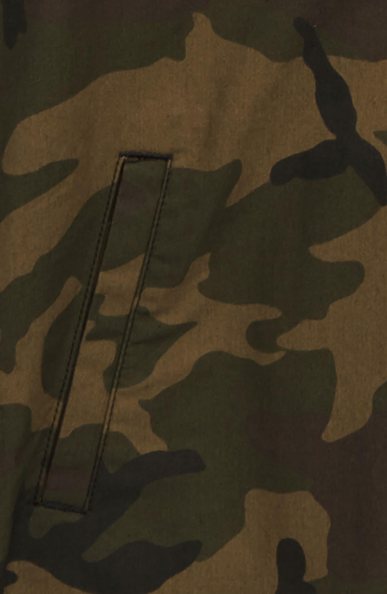Bradbury Camo Hooded Jacket,                             Alternate thumbnail 2, color,                             251
