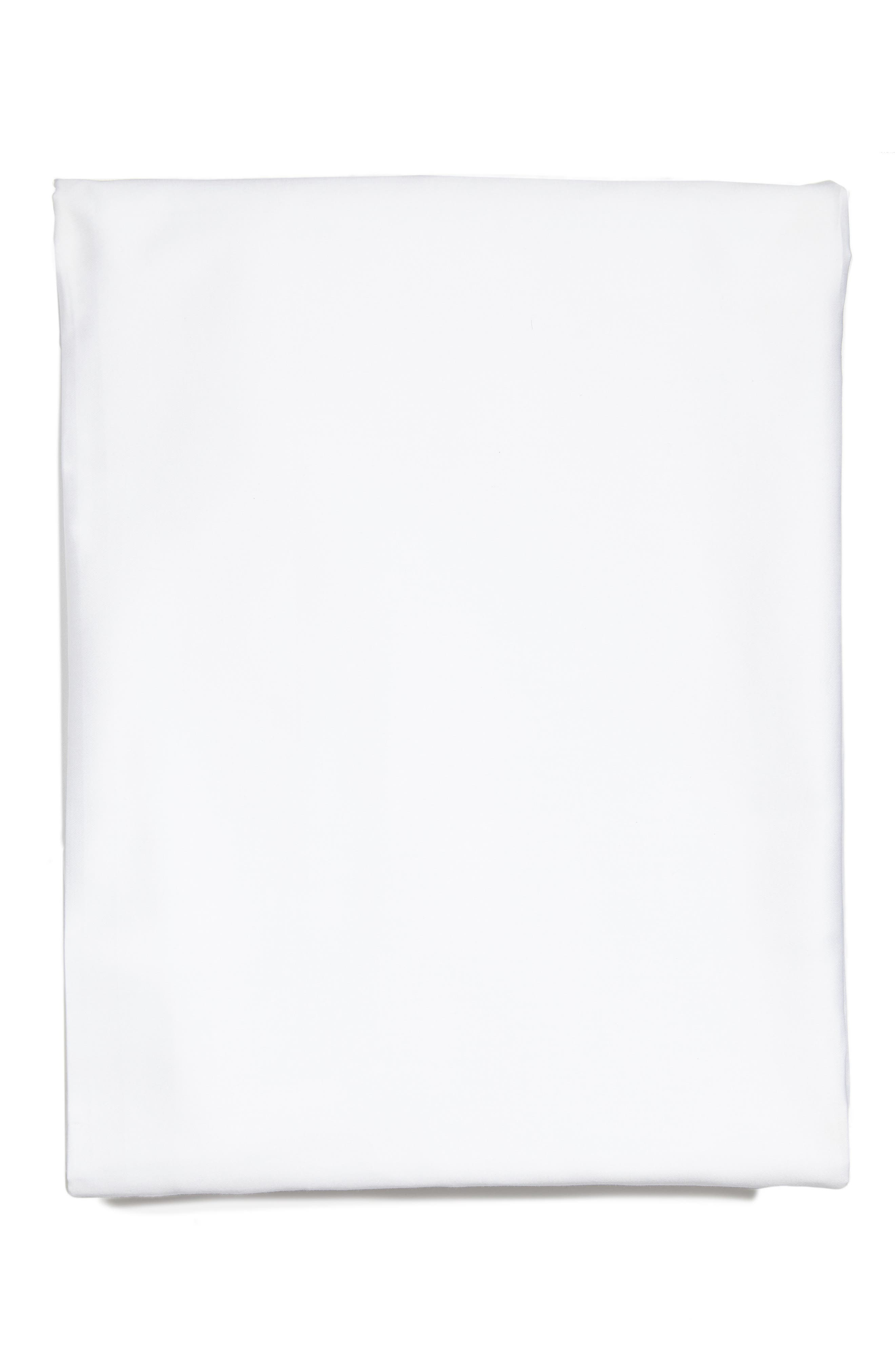 Fiona 300 Thread Count Fitted Sheet,                             Main thumbnail 1, color,                             WHITE