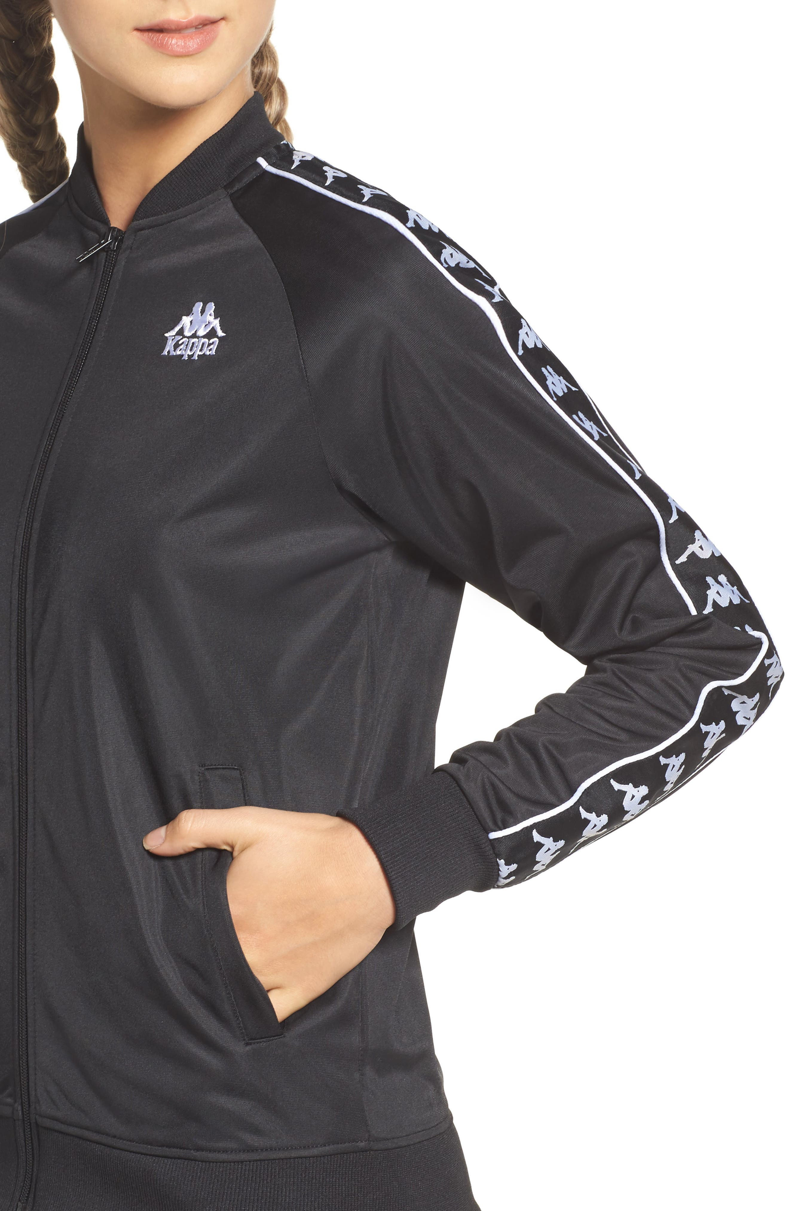 Authentic Morecambe Track Jacket,                             Alternate thumbnail 4, color,                             001