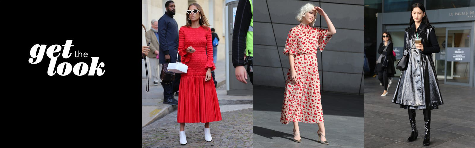 Get the look: women's clothing.