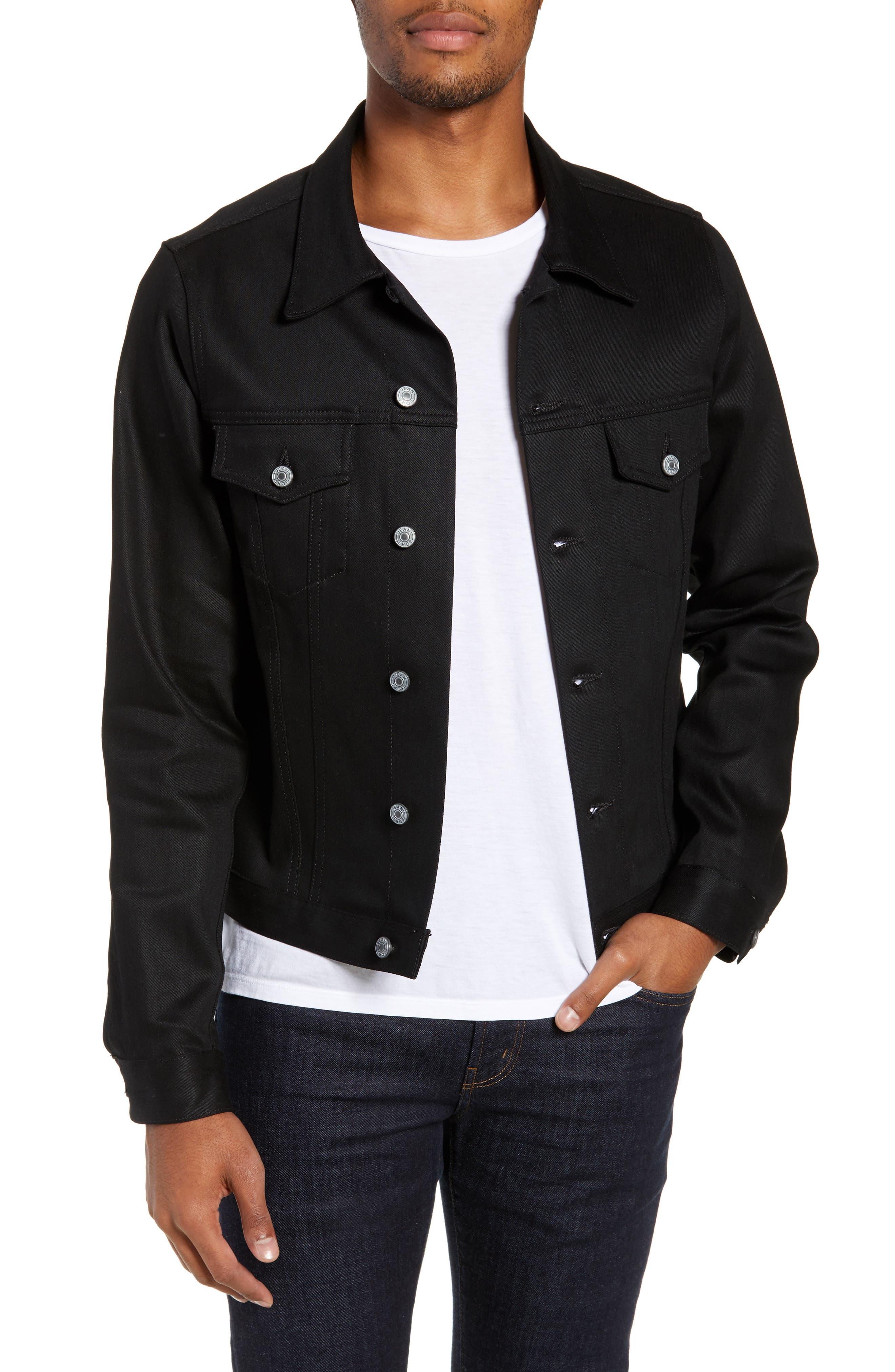 Lou Denim Jacket,                         Main,                         color, RAW