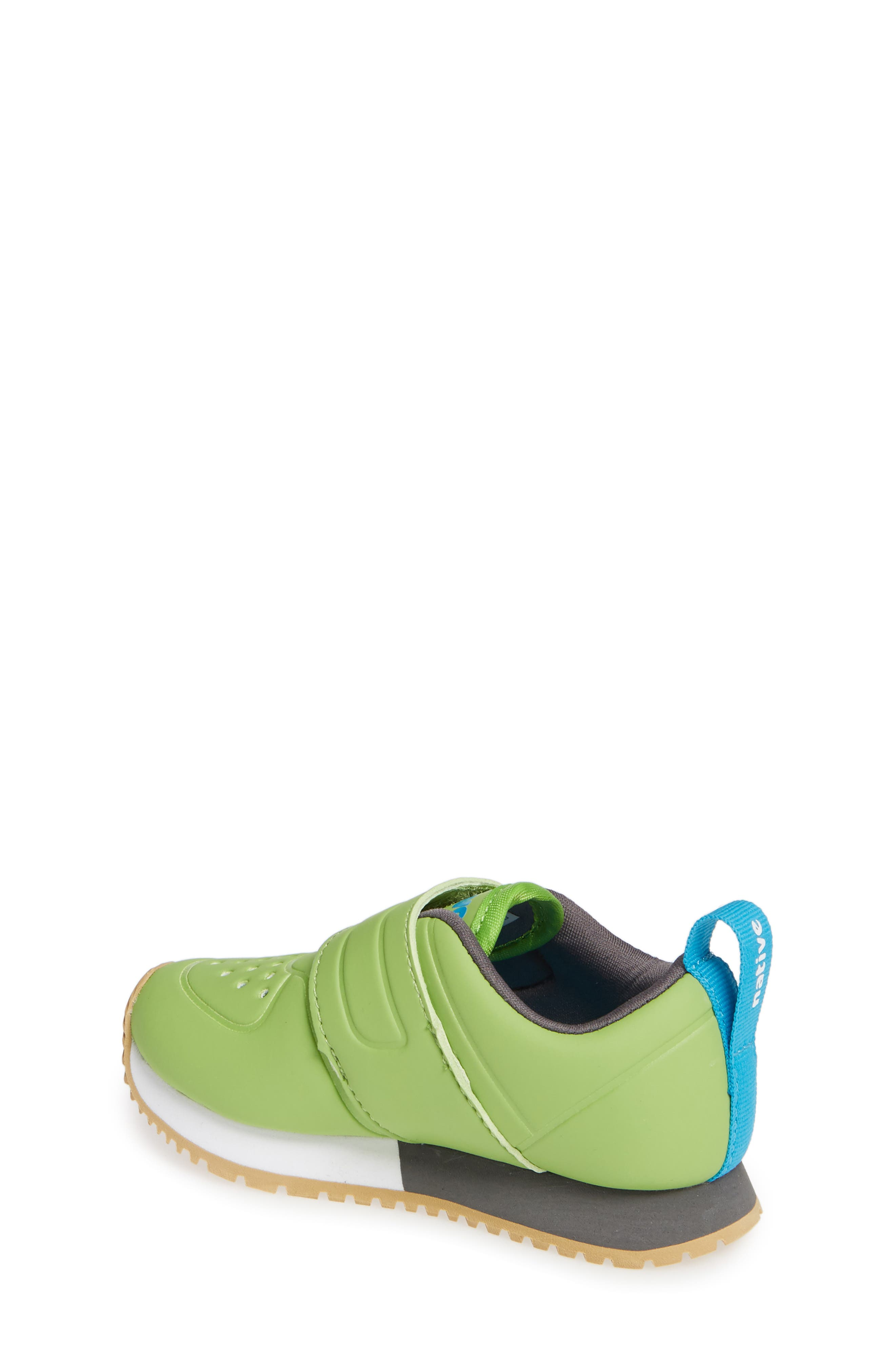 Cornell Perforated Colorblock Sneaker,                             Alternate thumbnail 2, color,                             SPRING GREEN/ WHITE/ GREY
