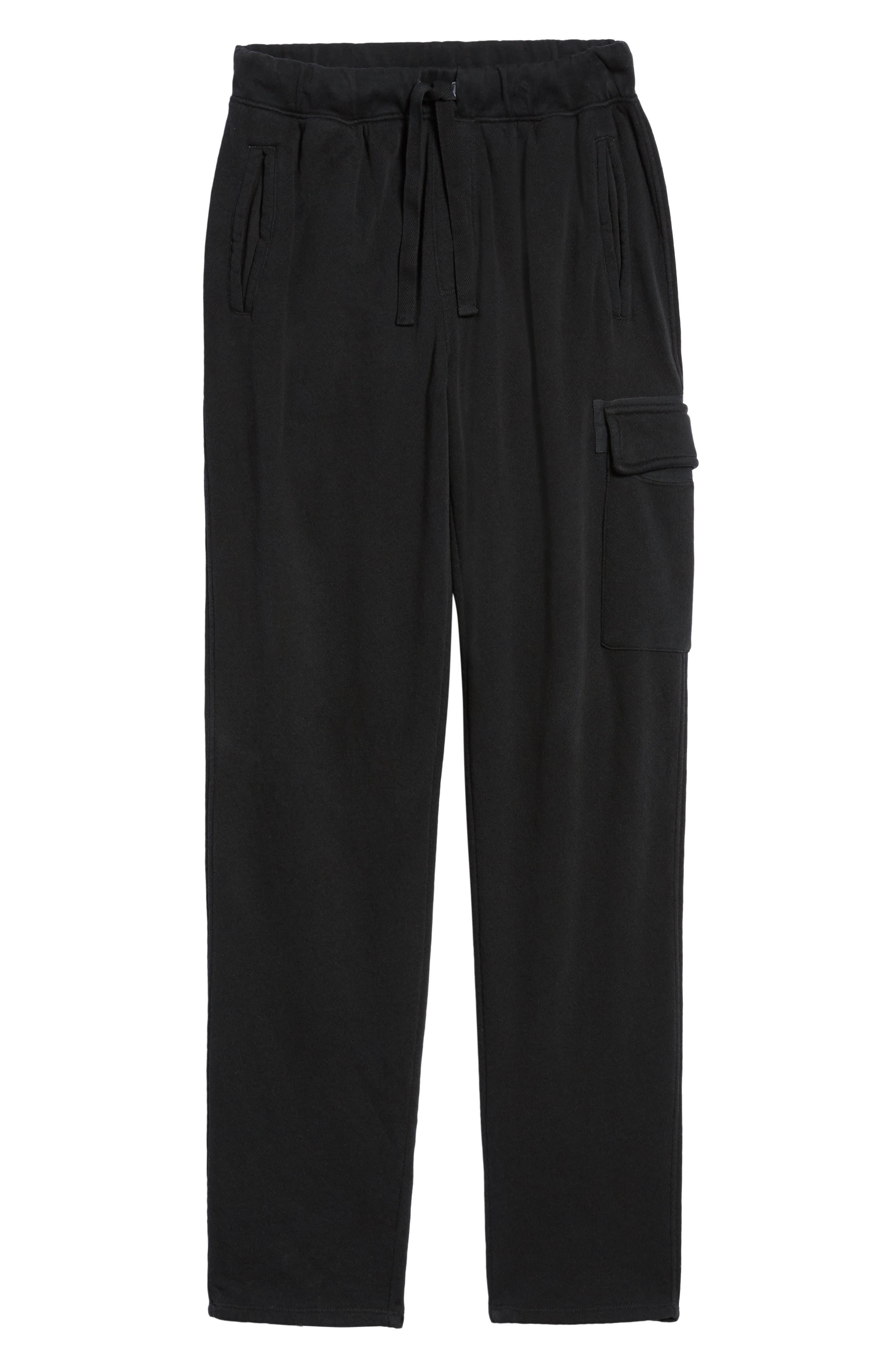 Slim Fit Sweatpants,                             Alternate thumbnail 6, color,                             CHARCOAL