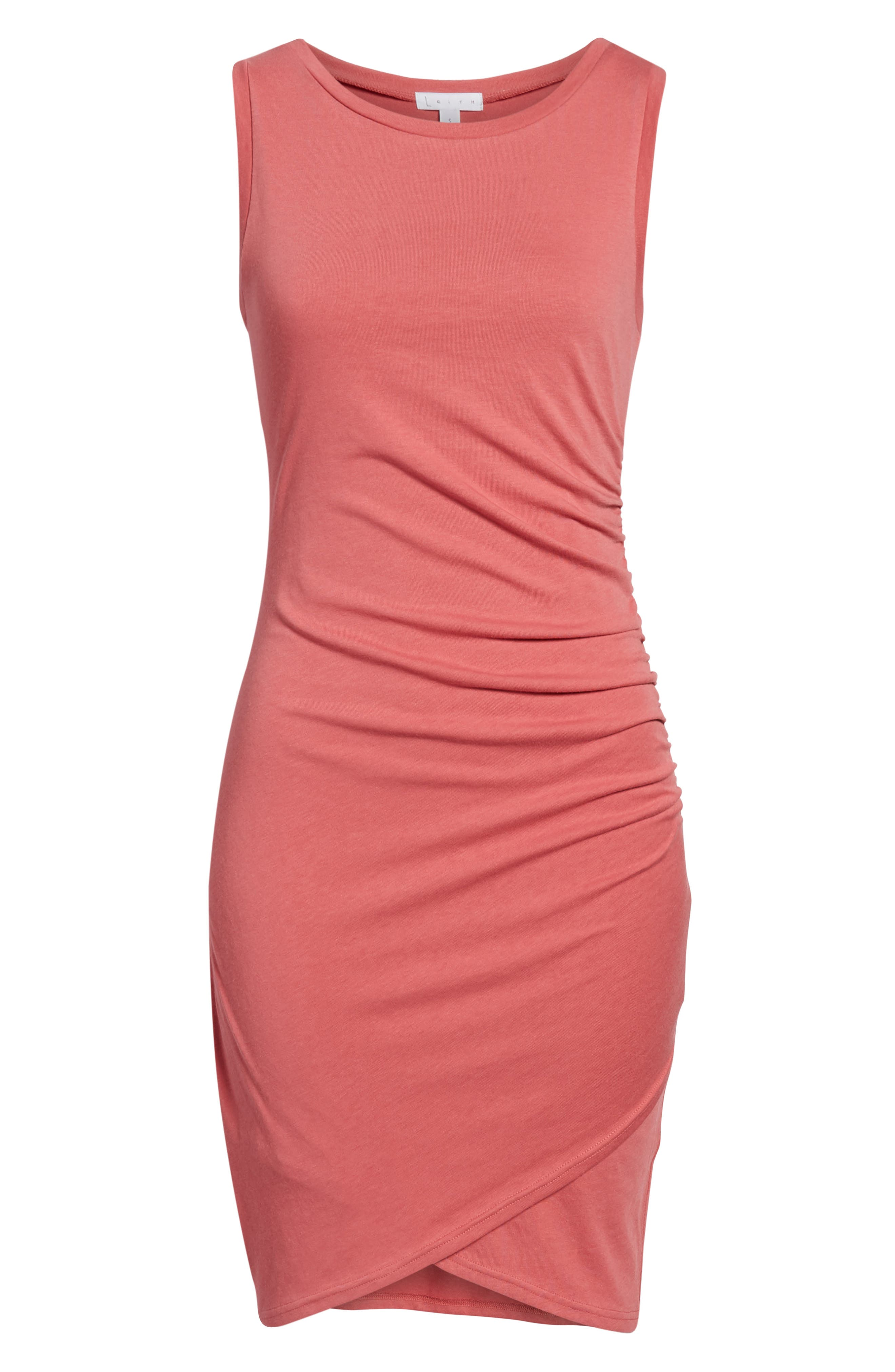 Ruched Body-Con Tank Dress,                             Alternate thumbnail 176, color,