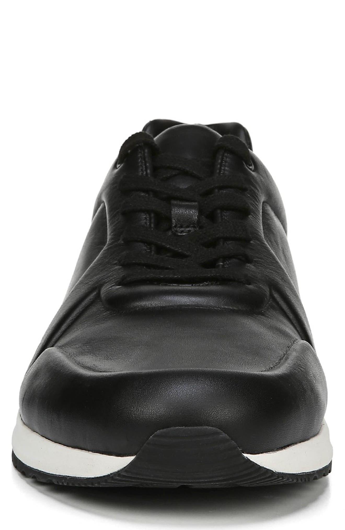Garrett Sneaker,                             Alternate thumbnail 4, color,                             BLACK/ BLACK
