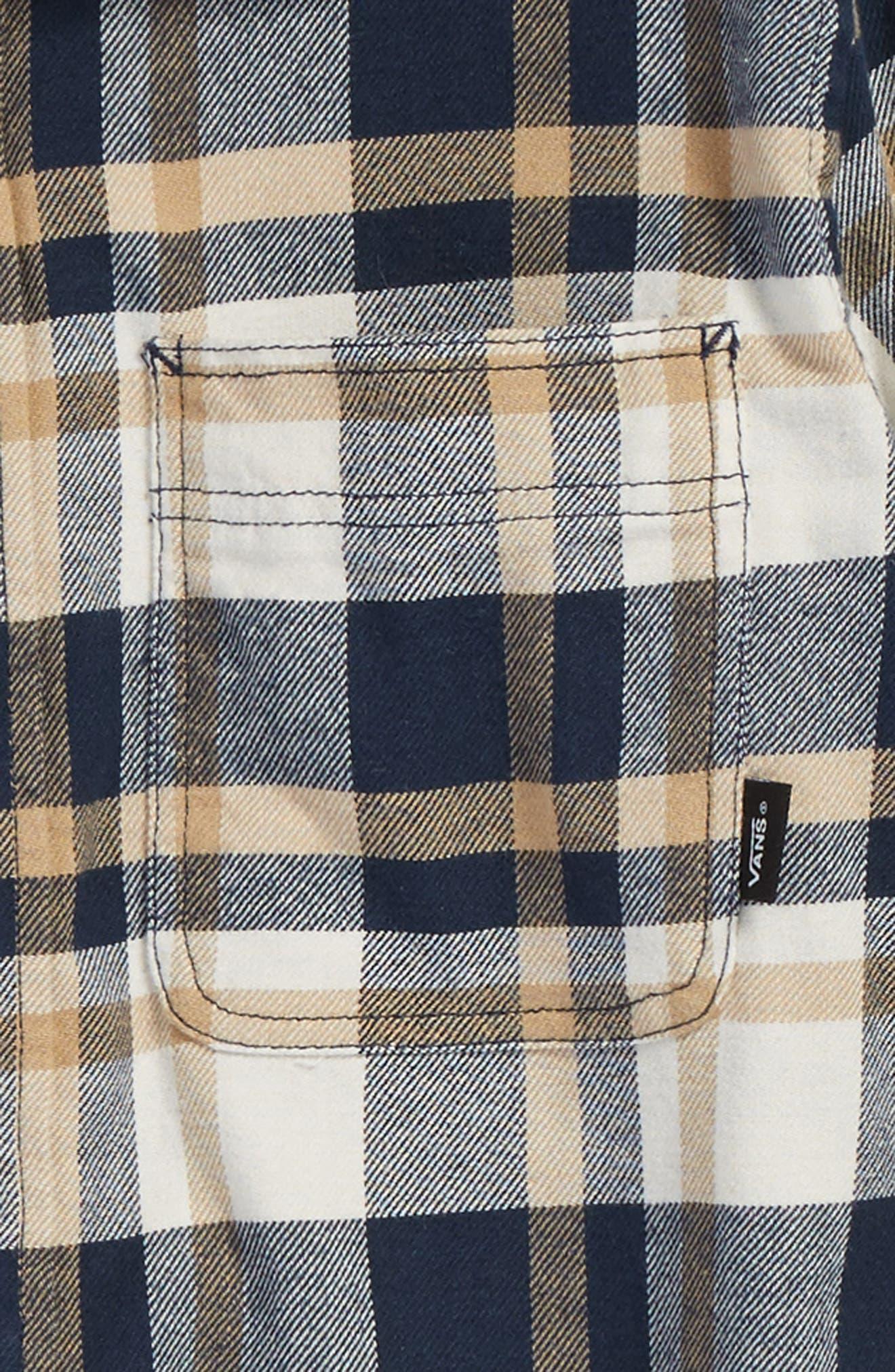 Banfield Plaid Flannel Shirt,                             Alternate thumbnail 2, color,                             401