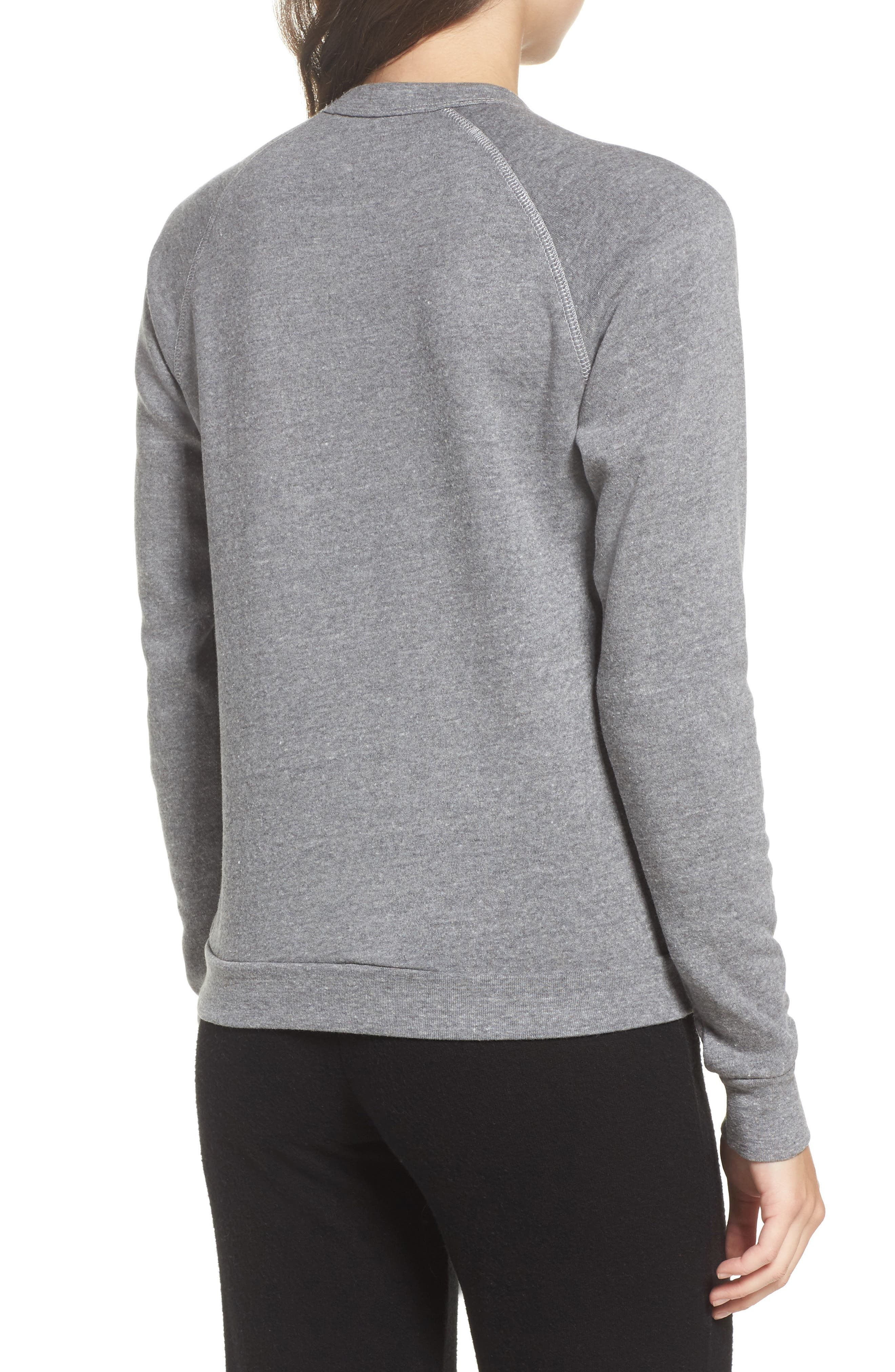 Say You'll Be Wine French Terry Sweatshirt,                             Alternate thumbnail 2, color,                             021