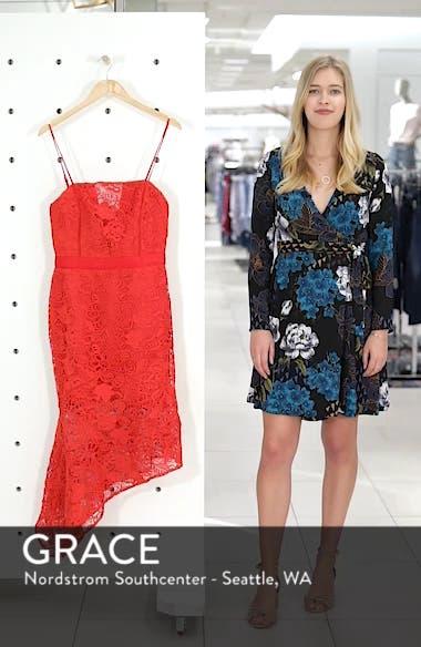 Asymmetrical Hem Lace Dress, sales video thumbnail