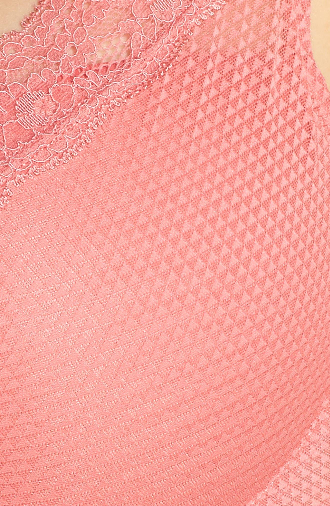 'Brooklyn' Underwire T-Shirt Bra,                             Alternate thumbnail 6, color,                             SUNSET