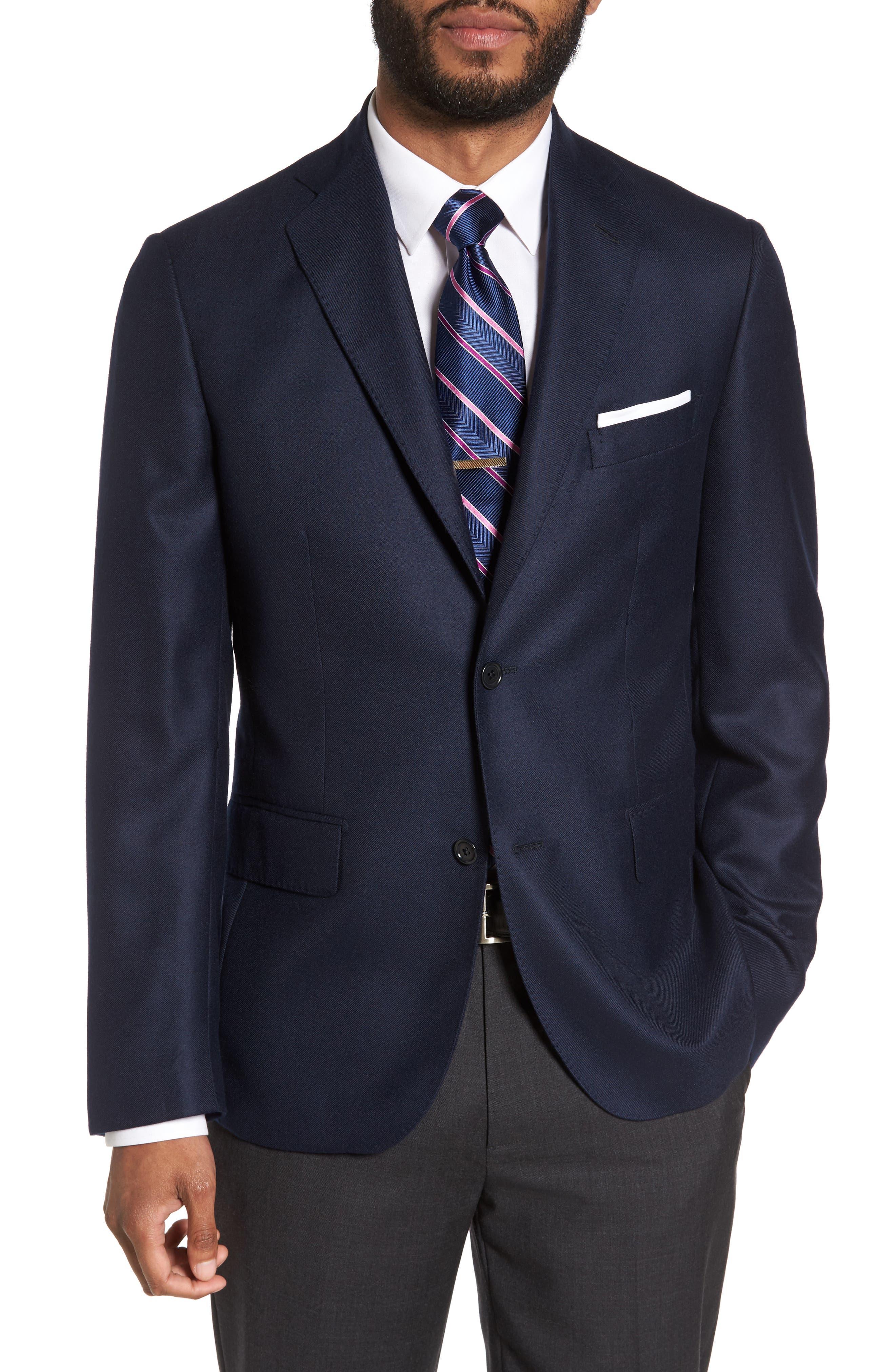 Classic Fit Cashmere Blazer,                             Main thumbnail 3, color,