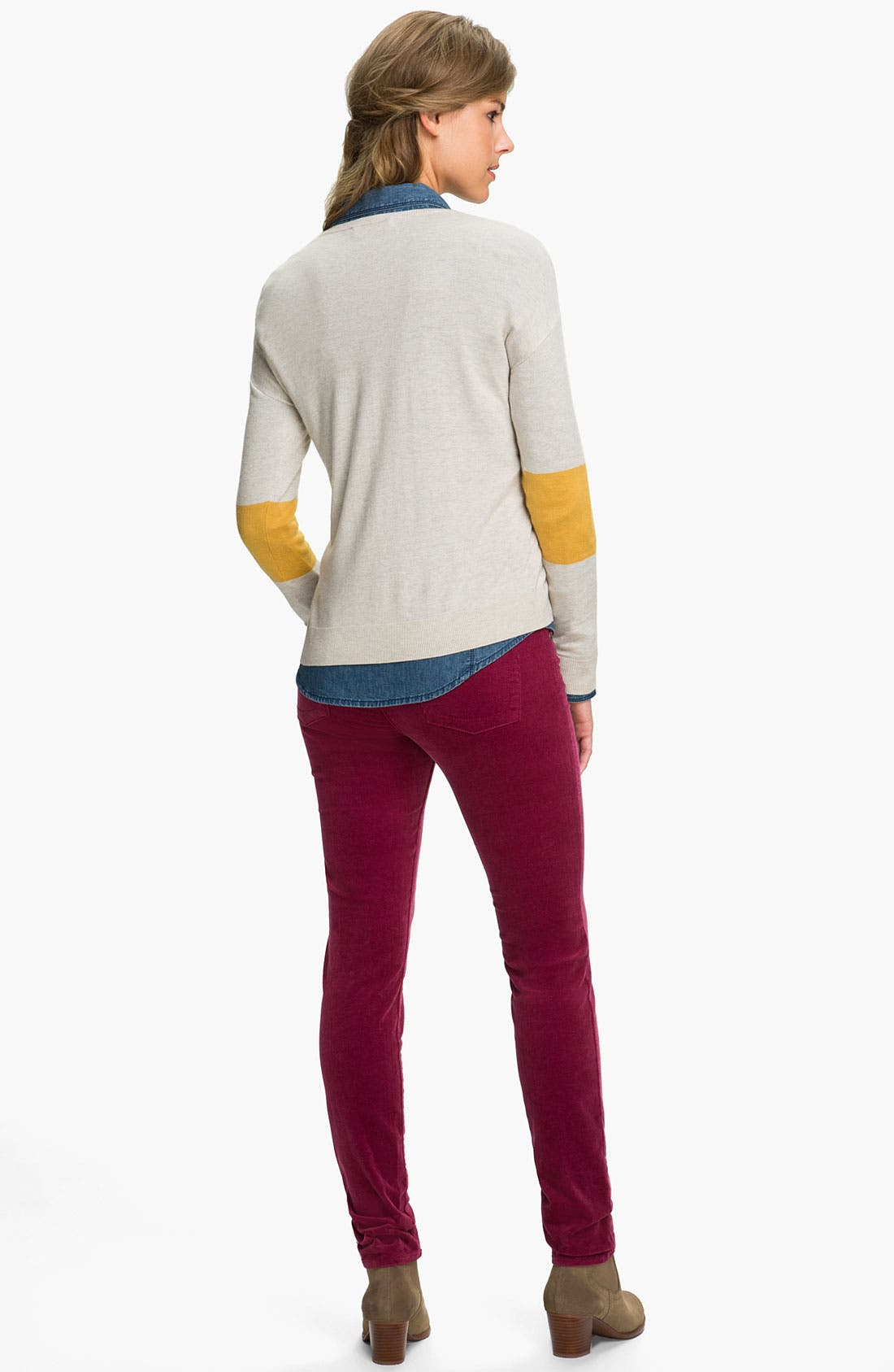 'Diana' Stretch Corduroy Skinny Pants,                             Alternate thumbnail 93, color,