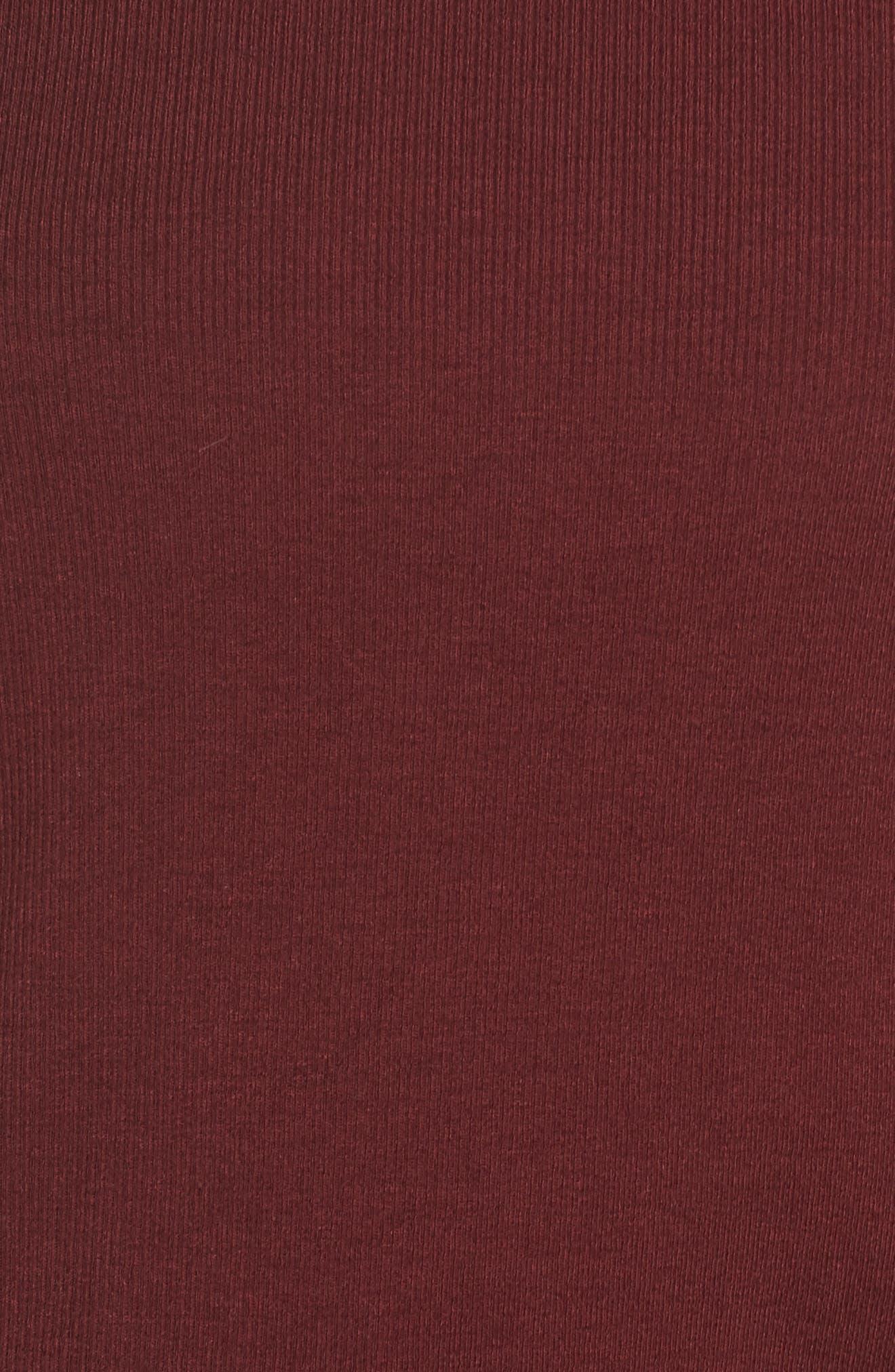 Defender Long-Sleeve Tee,                             Alternate thumbnail 6, color,                             MAROON/ MAPLE