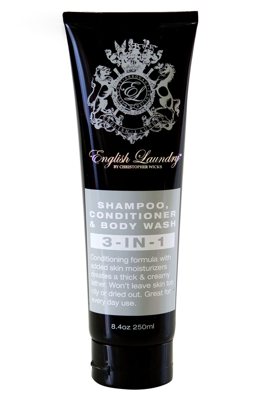 '3-in-1' Shampoo, Conditioner & Body Wash,                         Main,                         color, 000
