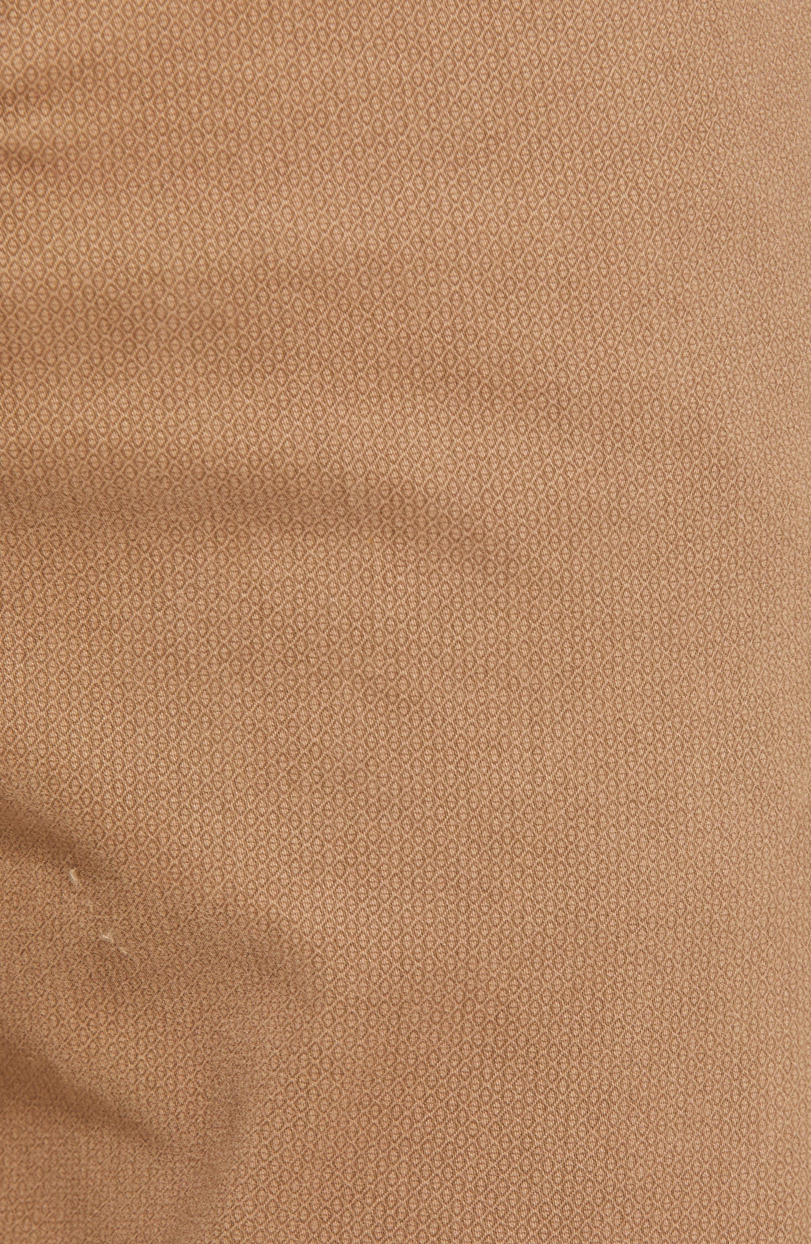 Everett SUD Print Slim Straight Leg Pants,                             Alternate thumbnail 5, color,                             MICRO GEO WHEAT