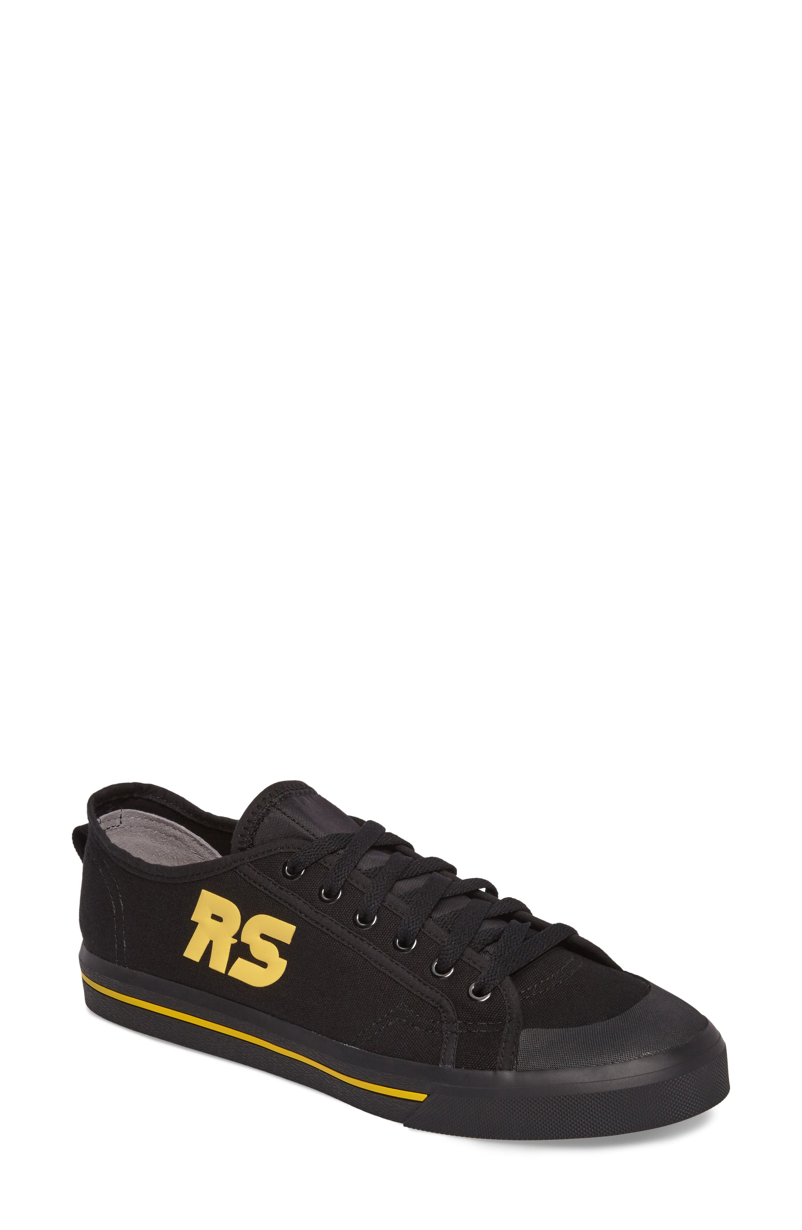 adidas by Raf Simons Spirit Low Top Sneaker,                             Main thumbnail 1, color,                             001