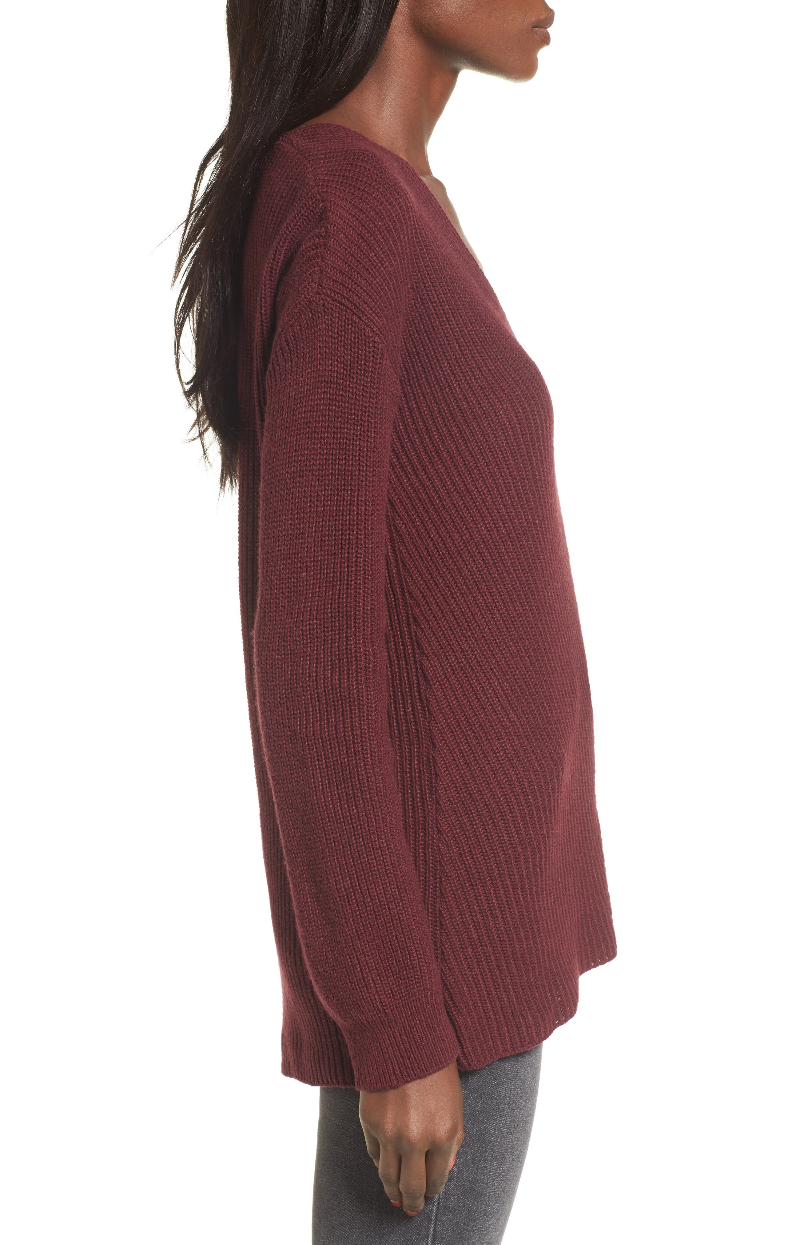 V-Neck Sweater,                             Alternate thumbnail 21, color,