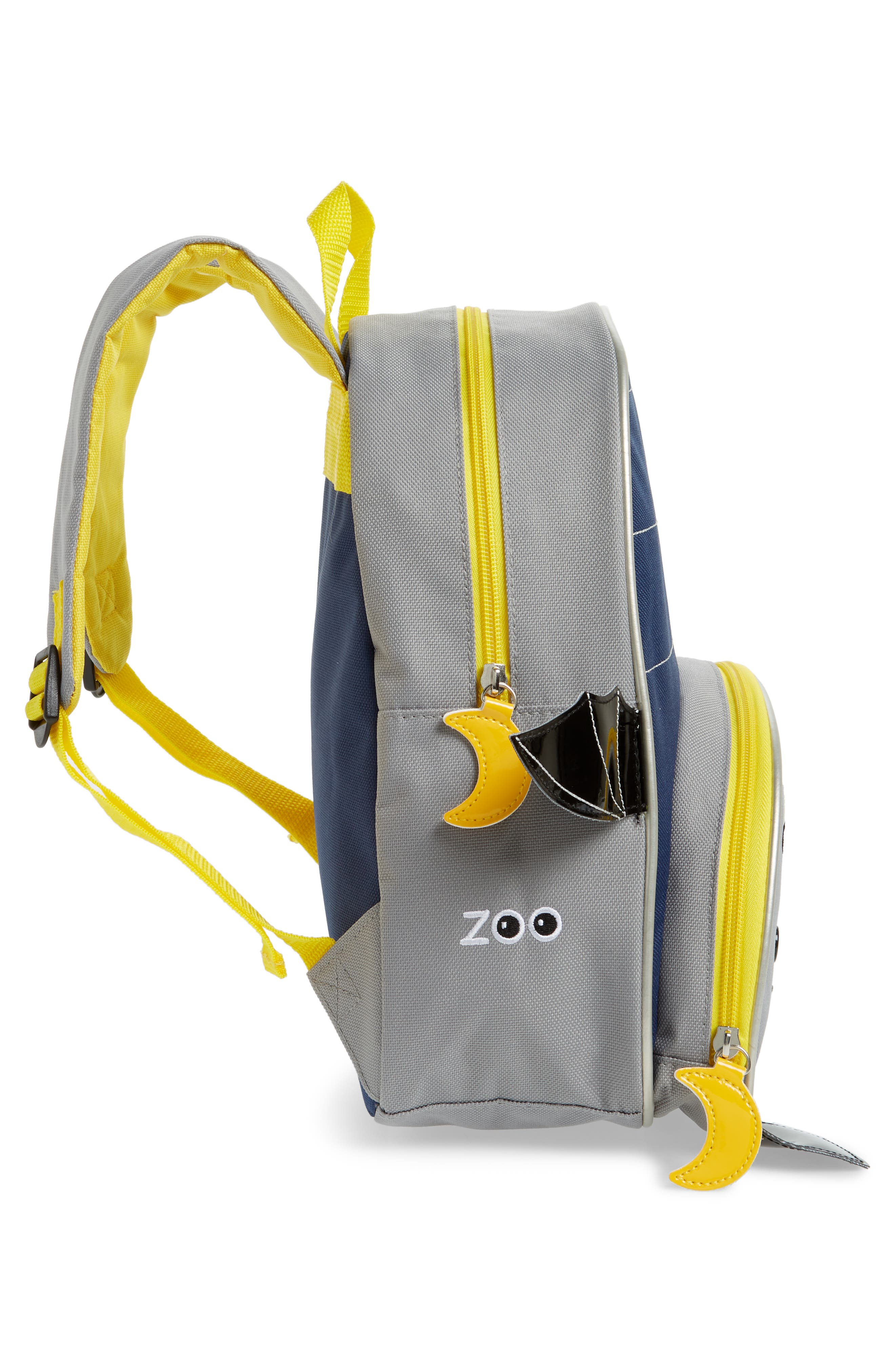 Zoo Pack Backpack,                             Alternate thumbnail 4, color,                             NAVY BLUE