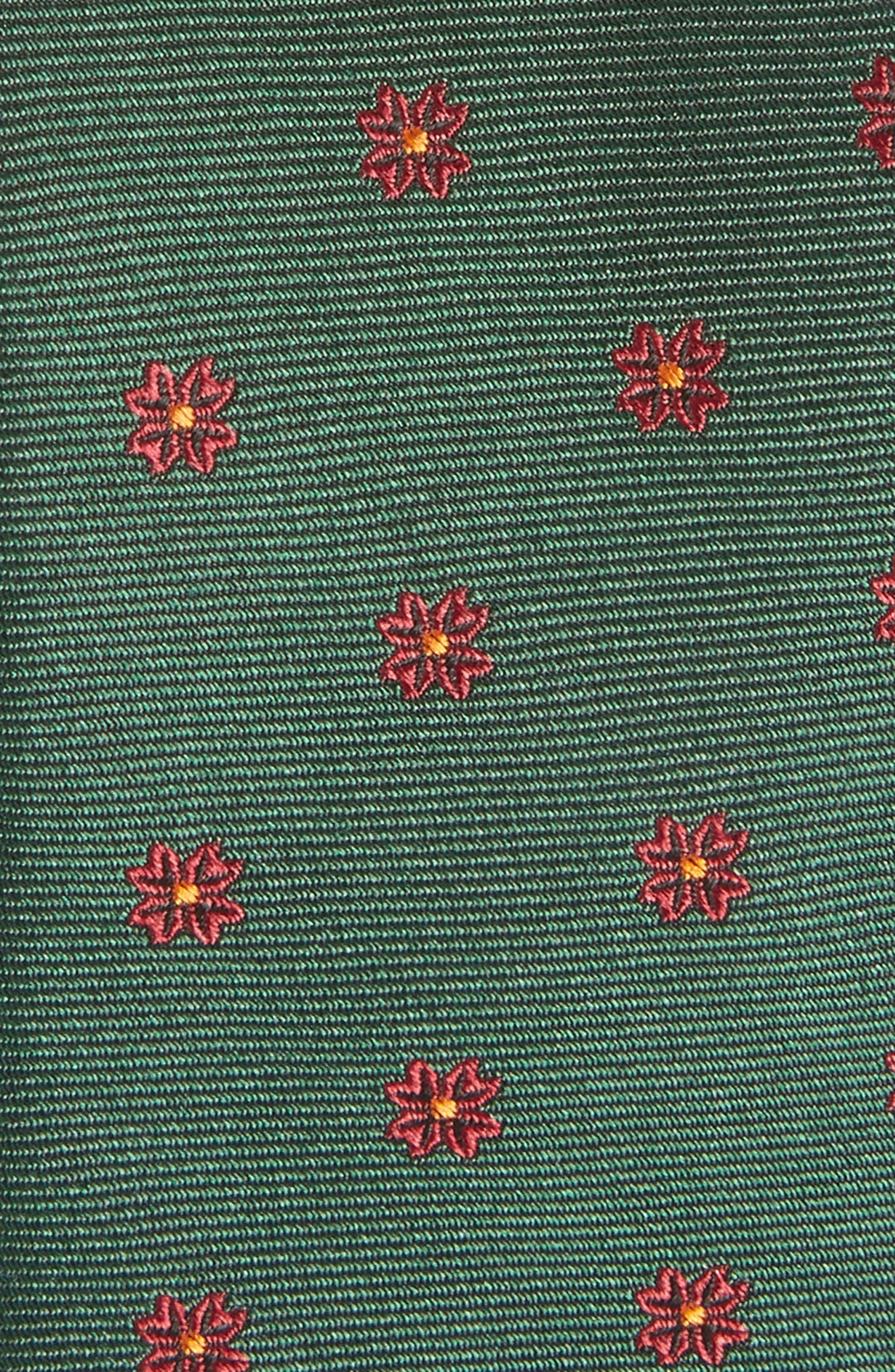 Floral Span Medallion Silk Tie,                             Alternate thumbnail 2, color,                             308