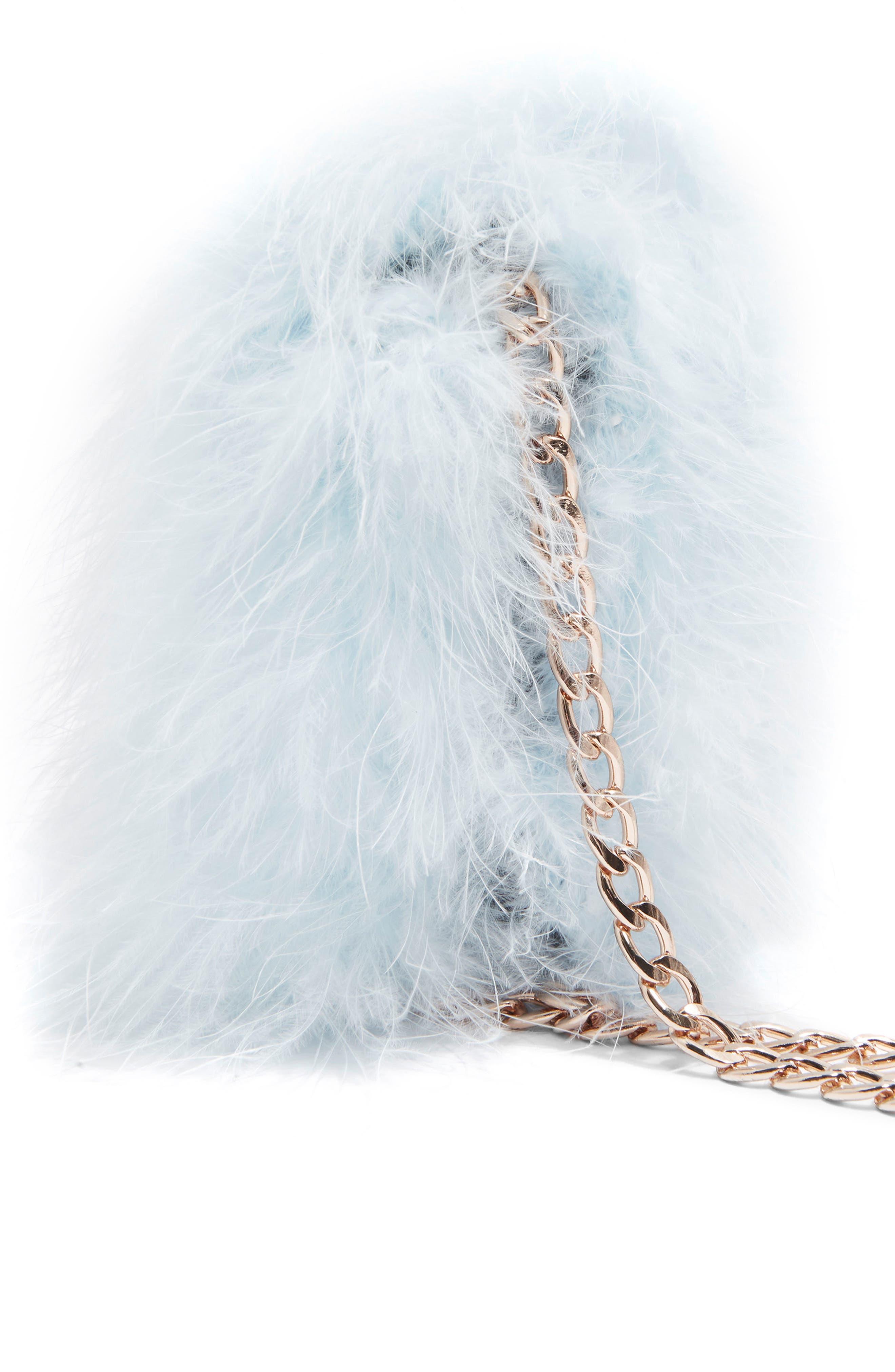 Riga Feather Crossbody Bag,                             Alternate thumbnail 10, color,
