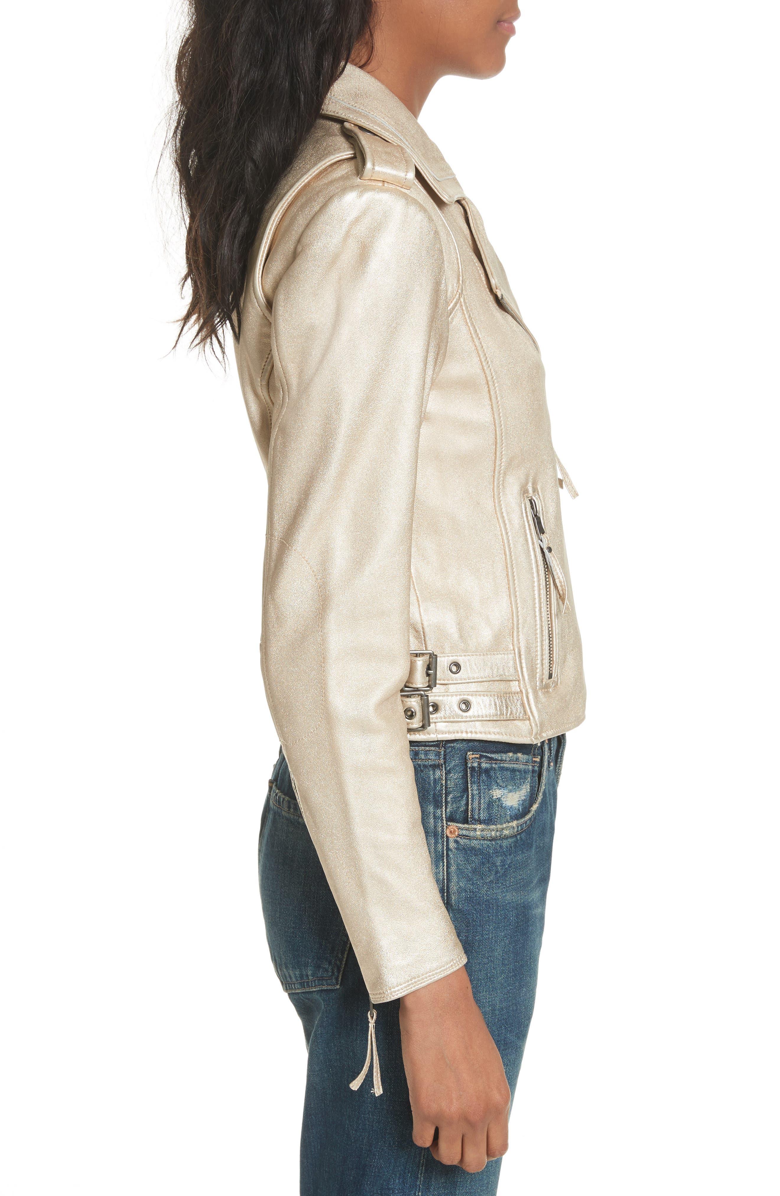 Leolani Leather Jacket,                             Alternate thumbnail 6, color,