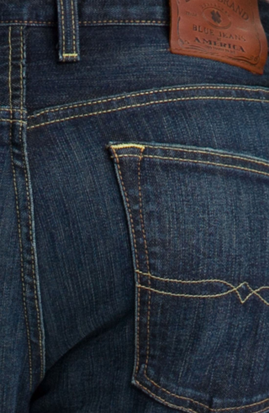 '123 Heritage' Slim Straight Leg Jeans,                             Alternate thumbnail 4, color,                             460