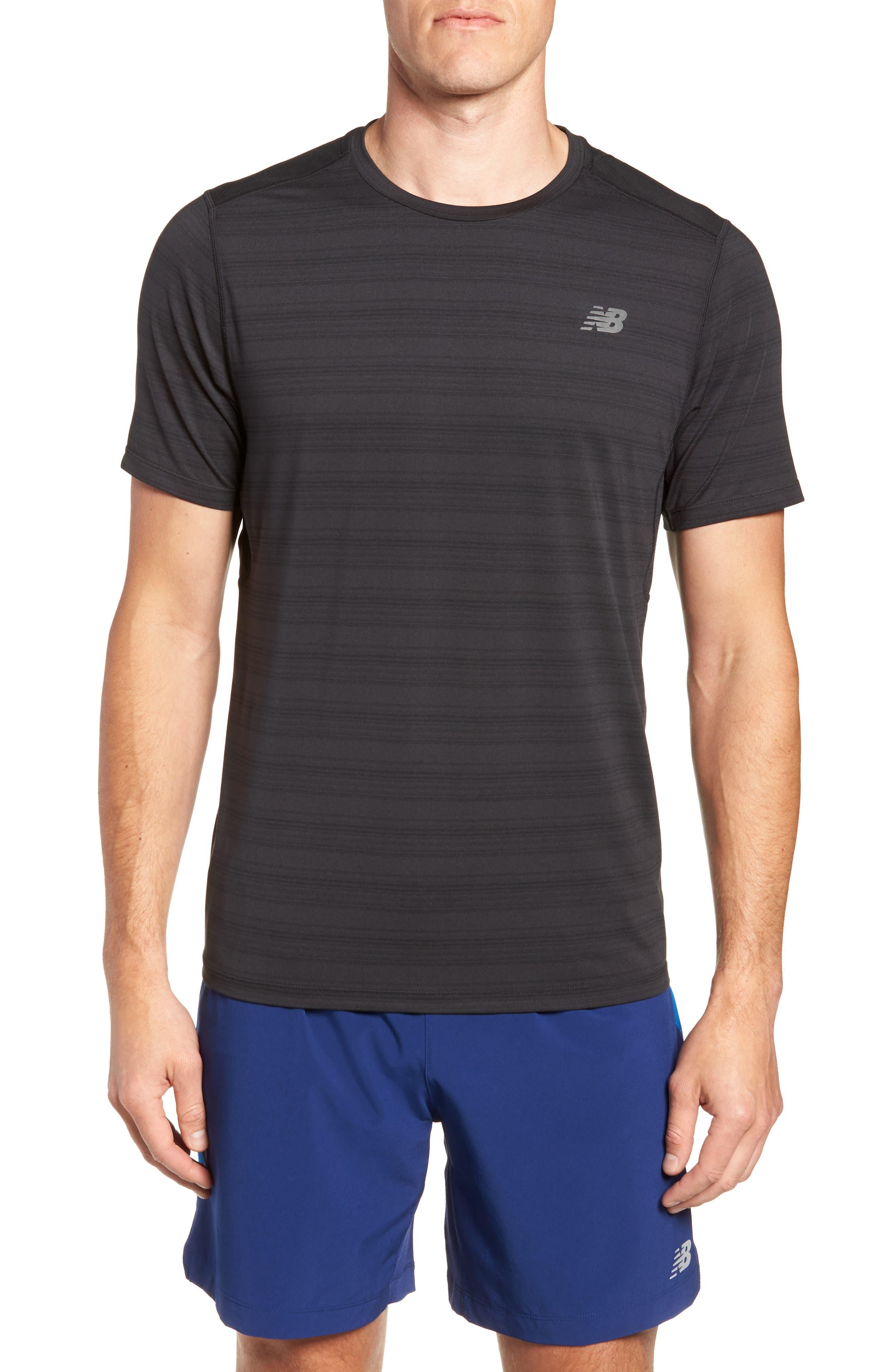 Anticipate Performance T-Shirt, Main, color, BLACK