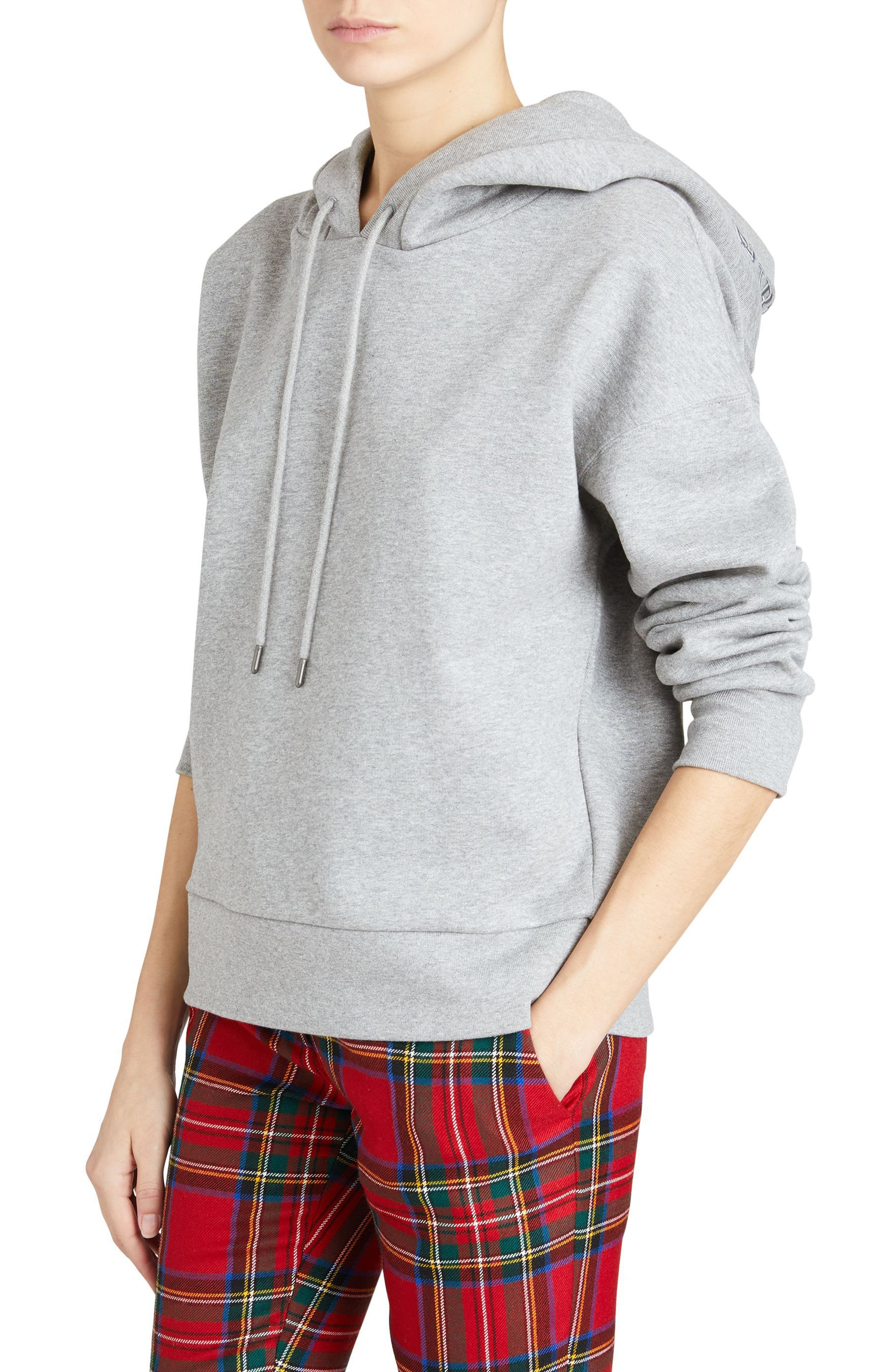 Escara Embroidered Hoodie,                             Alternate thumbnail 6, color,