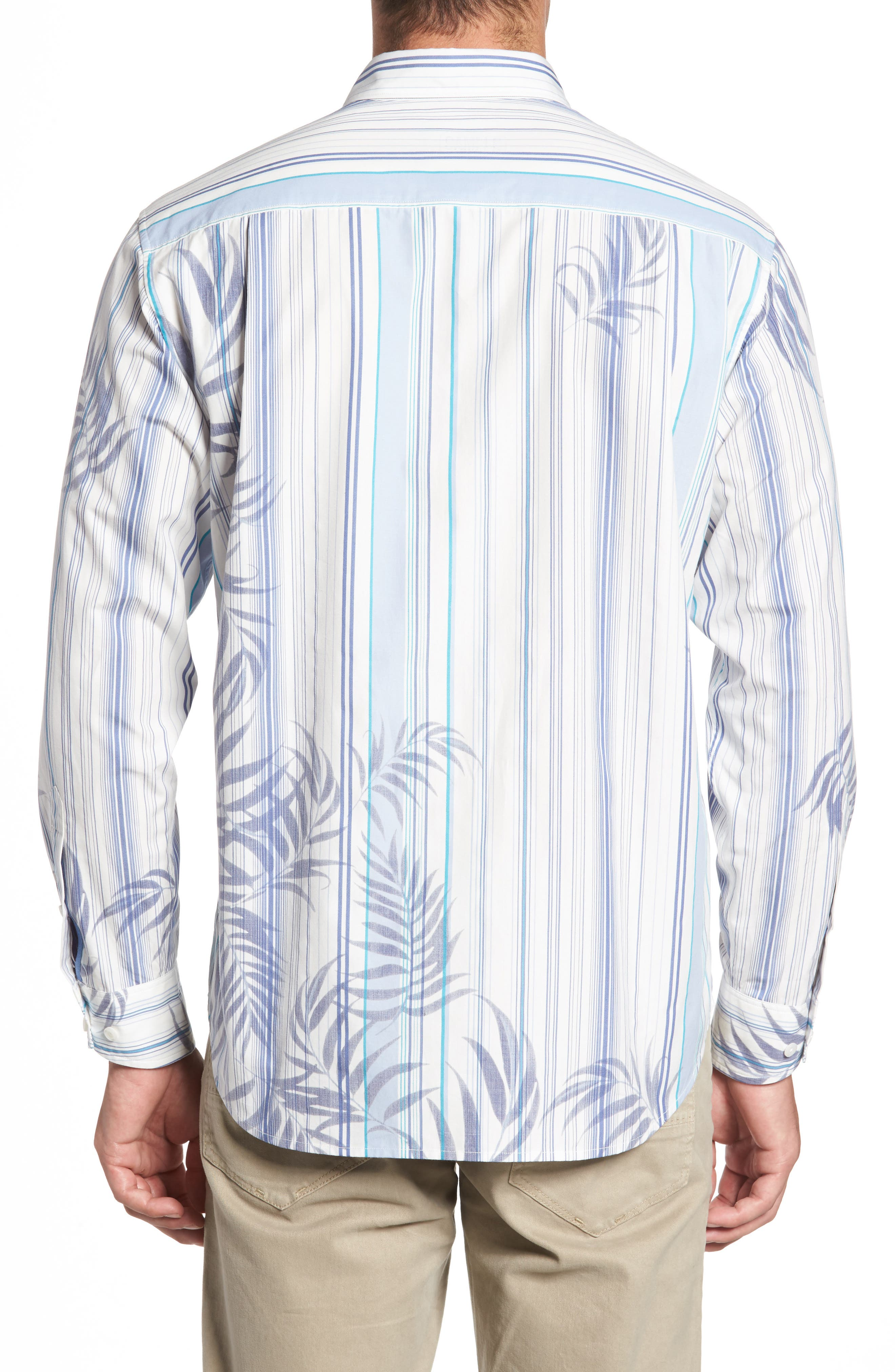 Frond with the Wind Sport Shirt,                             Alternate thumbnail 2, color,